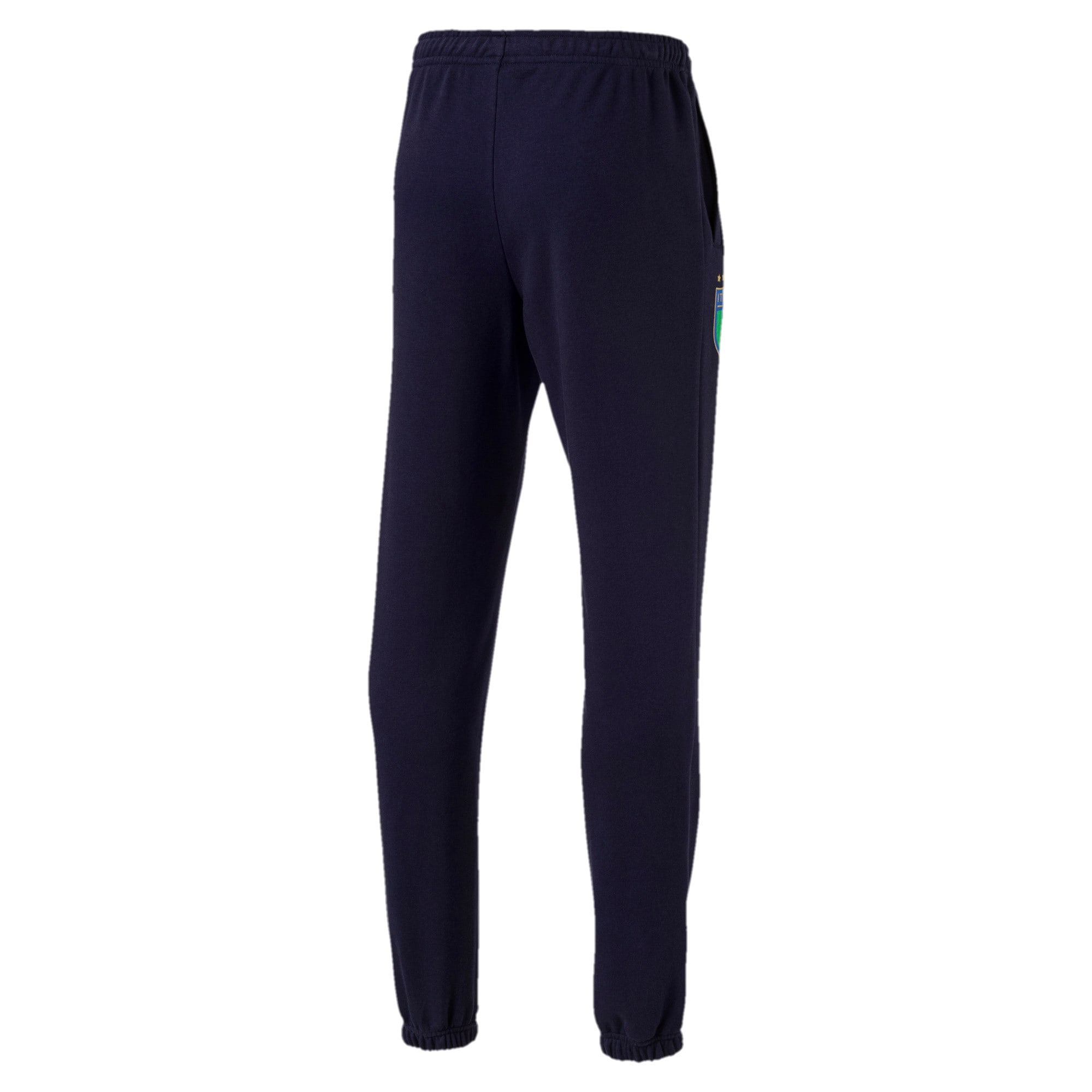 Thumbnail 4 of FIGC Men's Italia Sweat Pants, Peacoat, medium