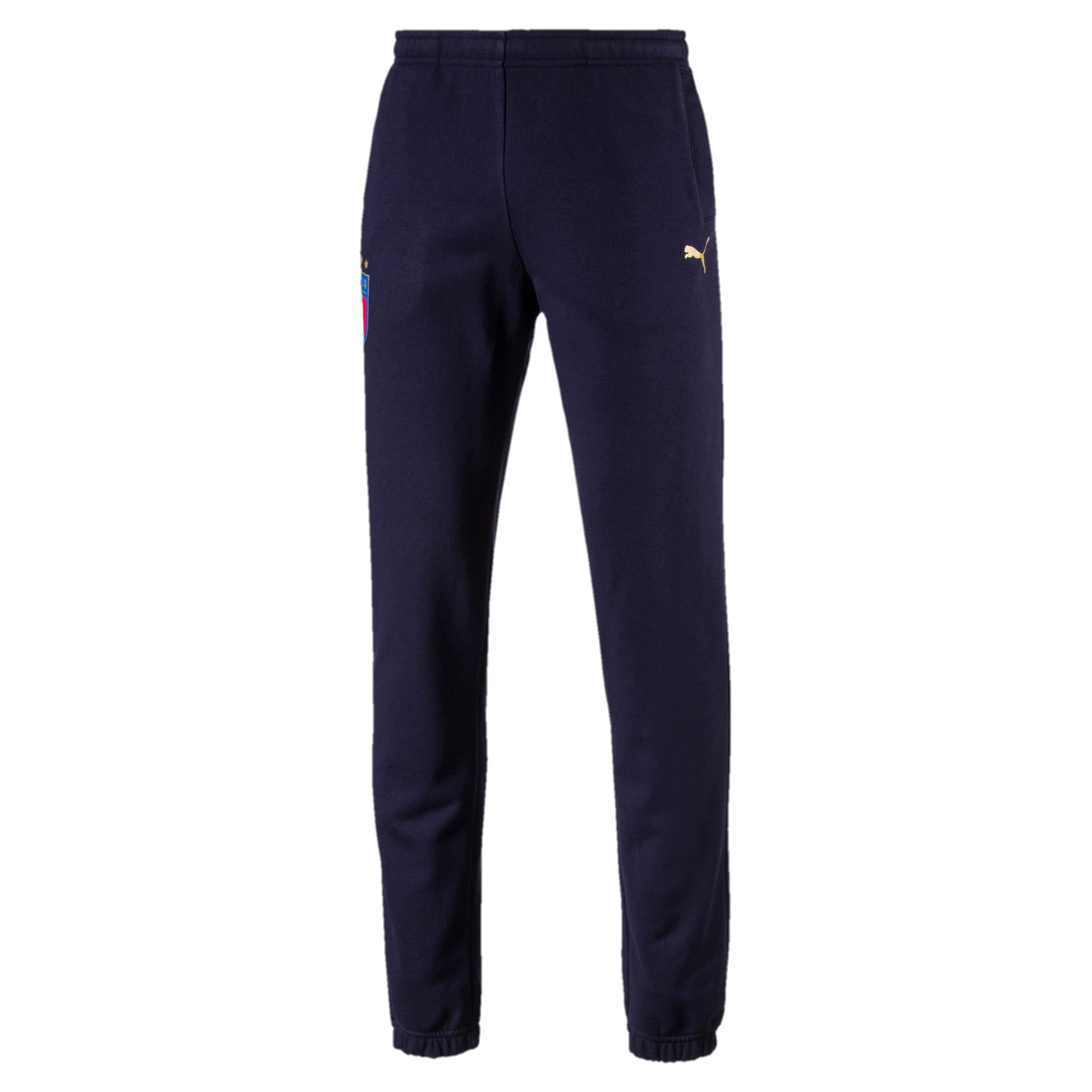 Thumbnail 1 of FIGC Men's Italia Sweat Pants, Peacoat, medium