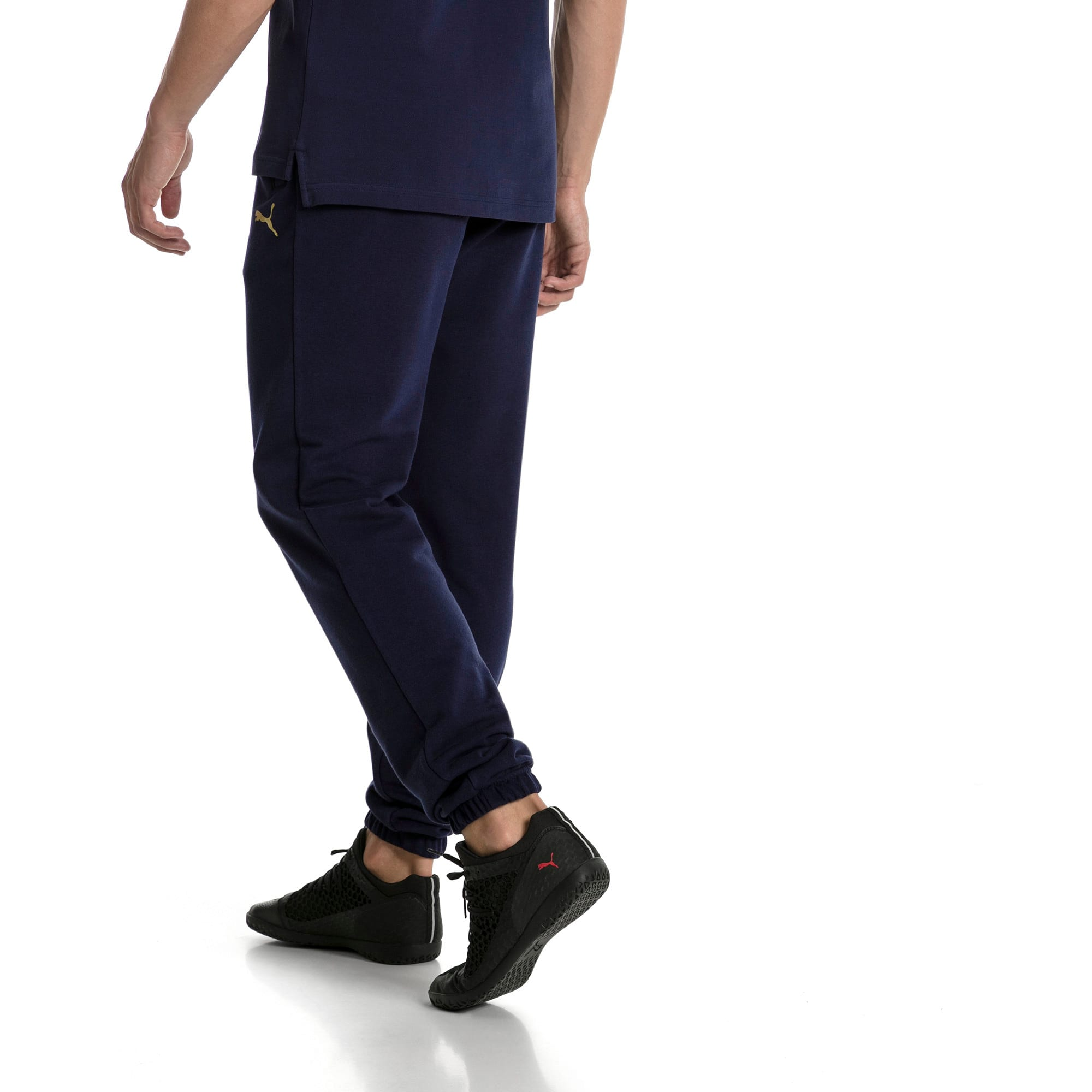 Thumbnail 3 of FIGC Men's Italia Sweat Pants, Peacoat, medium