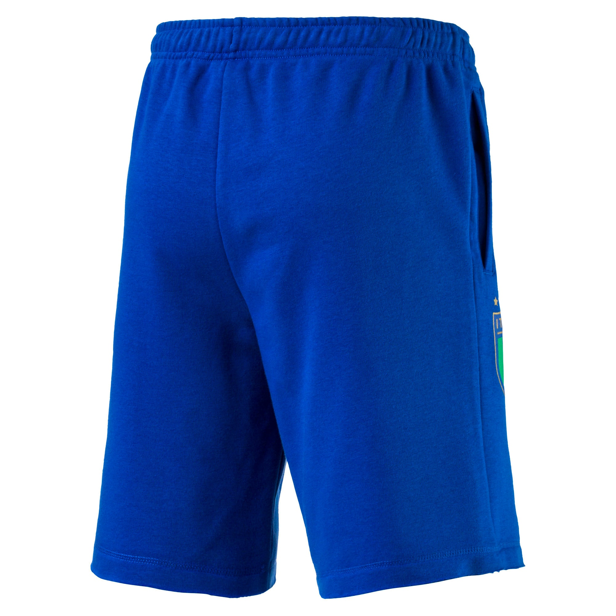 Thumbnail 4 of FIGC Men's Italia Fanwear Bermudas, Team Power Blue, medium