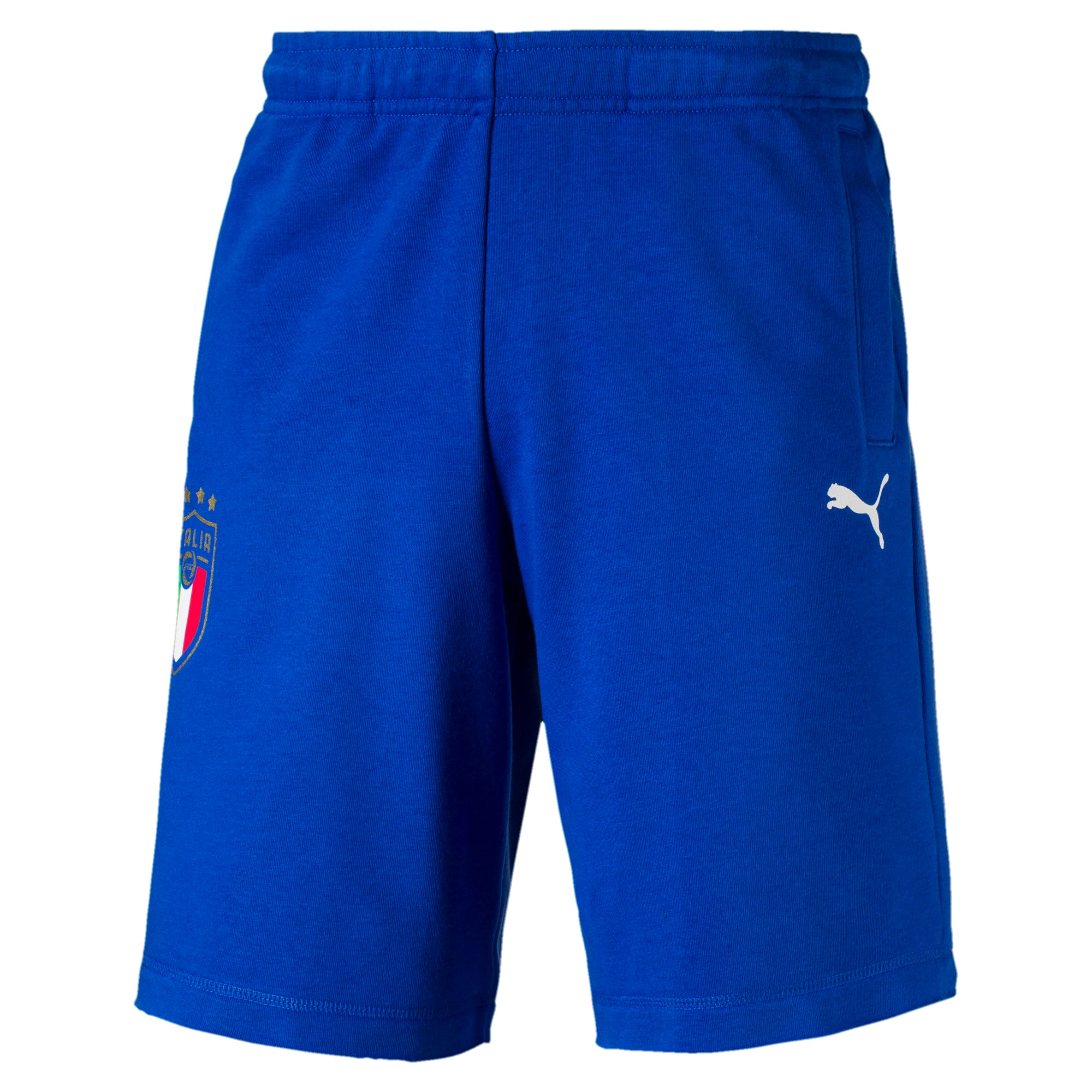 Thumbnail 1 of FIGC Men's Italia Fanwear Bermudas, Team Power Blue, medium
