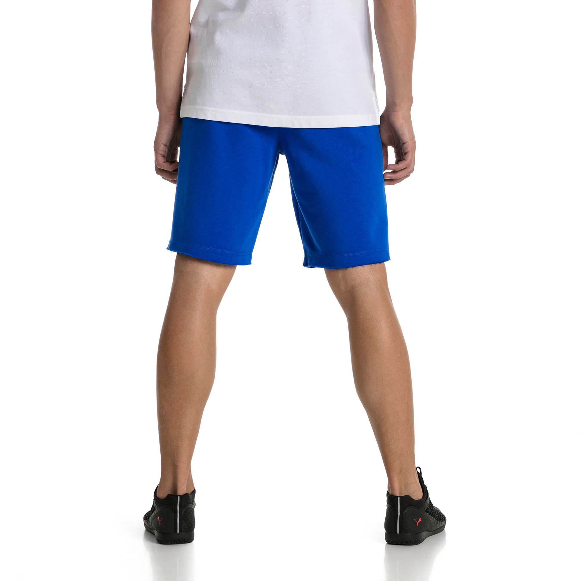 Thumbnail 3 of FIGC Men's Italia Fanwear Bermudas, Team Power Blue, medium