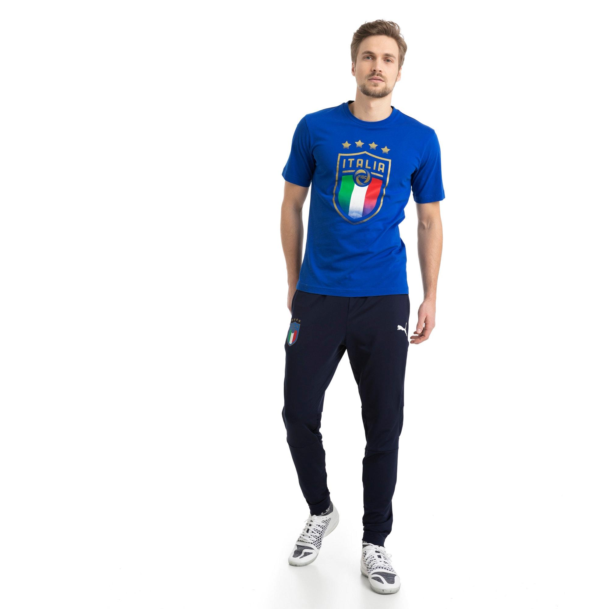 Thumbnail 5 of Italia Wappen T-Shirt, Team Power Blue, medium