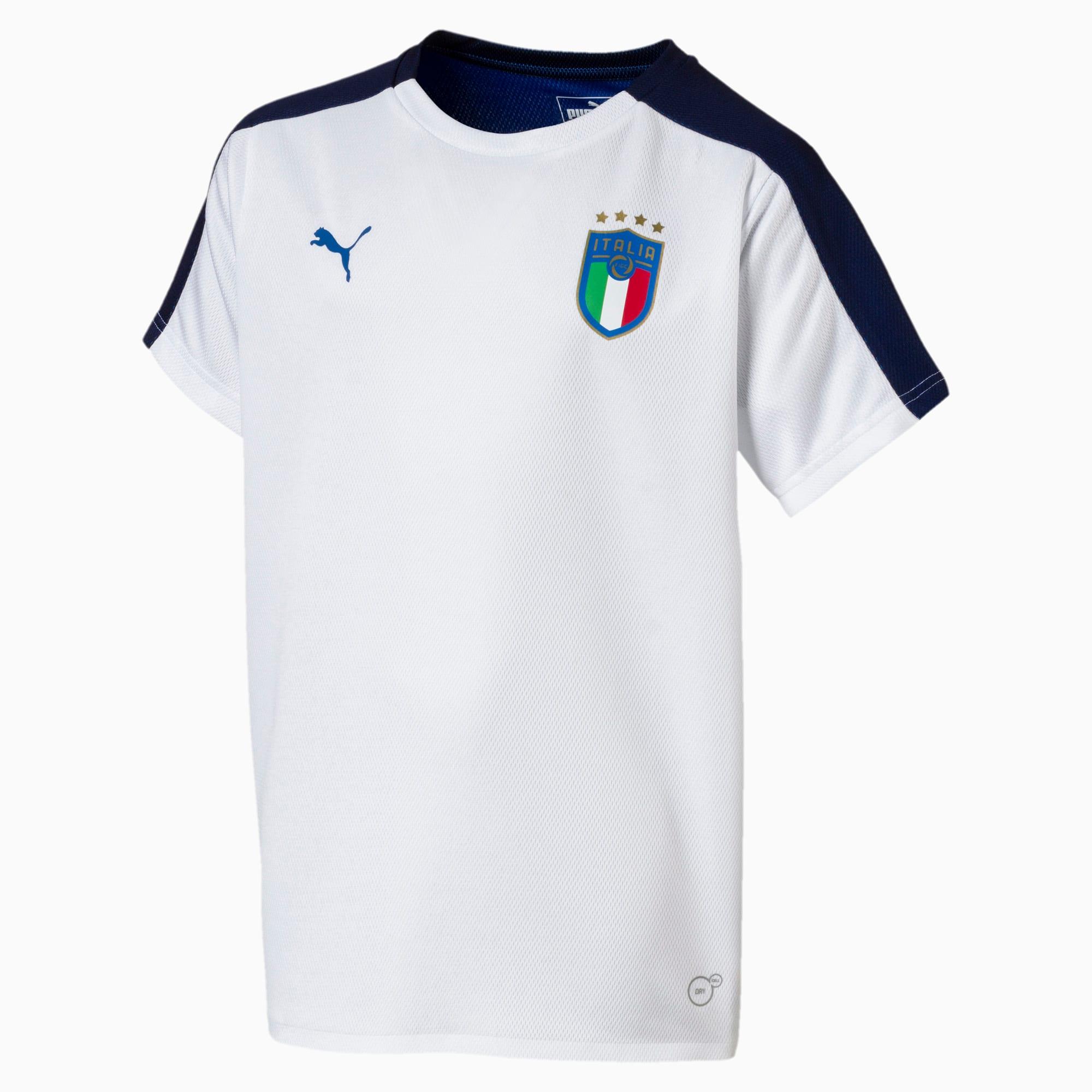 Puma 753102 02 Maglietta FIGC ITALIA Bambino