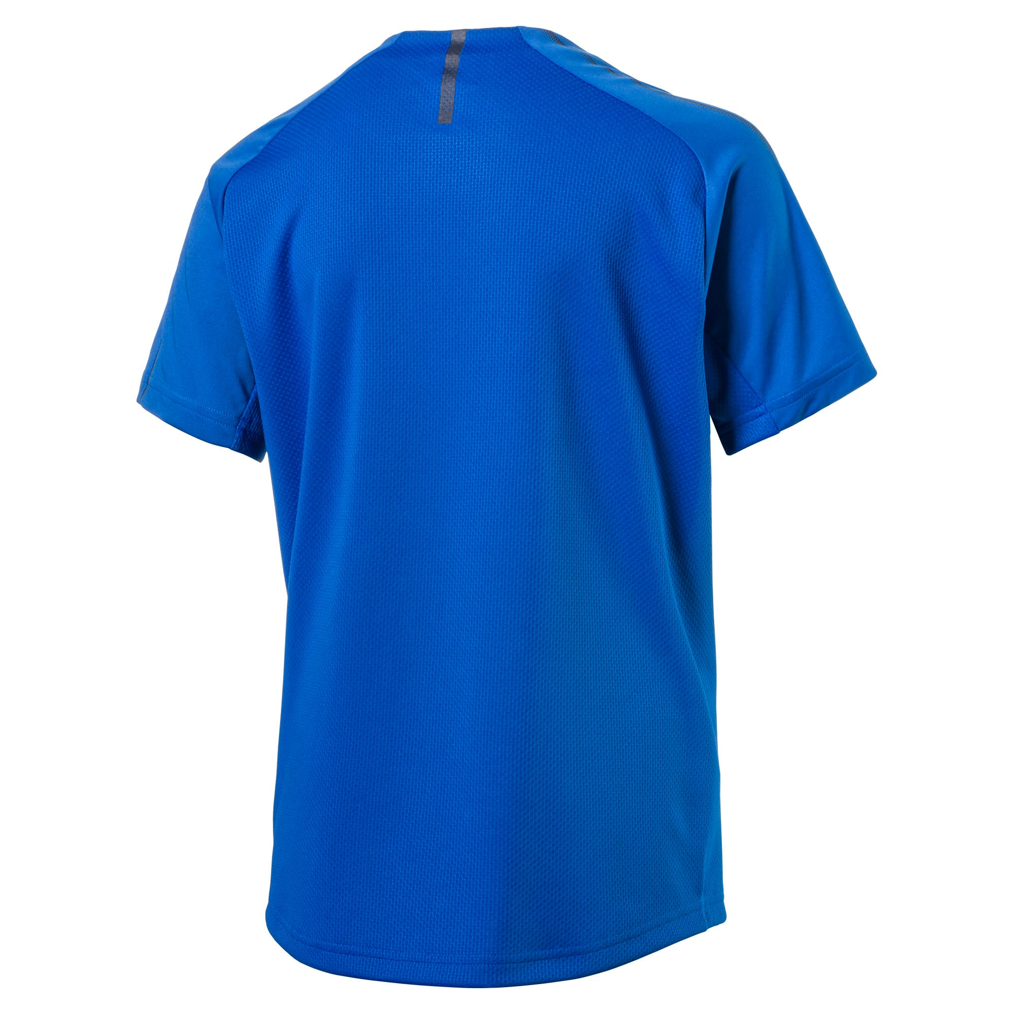 Thumbnail 2 of Italia Short Sleeve Training Jersey Jr, Team Power Blue-Puma White, medium