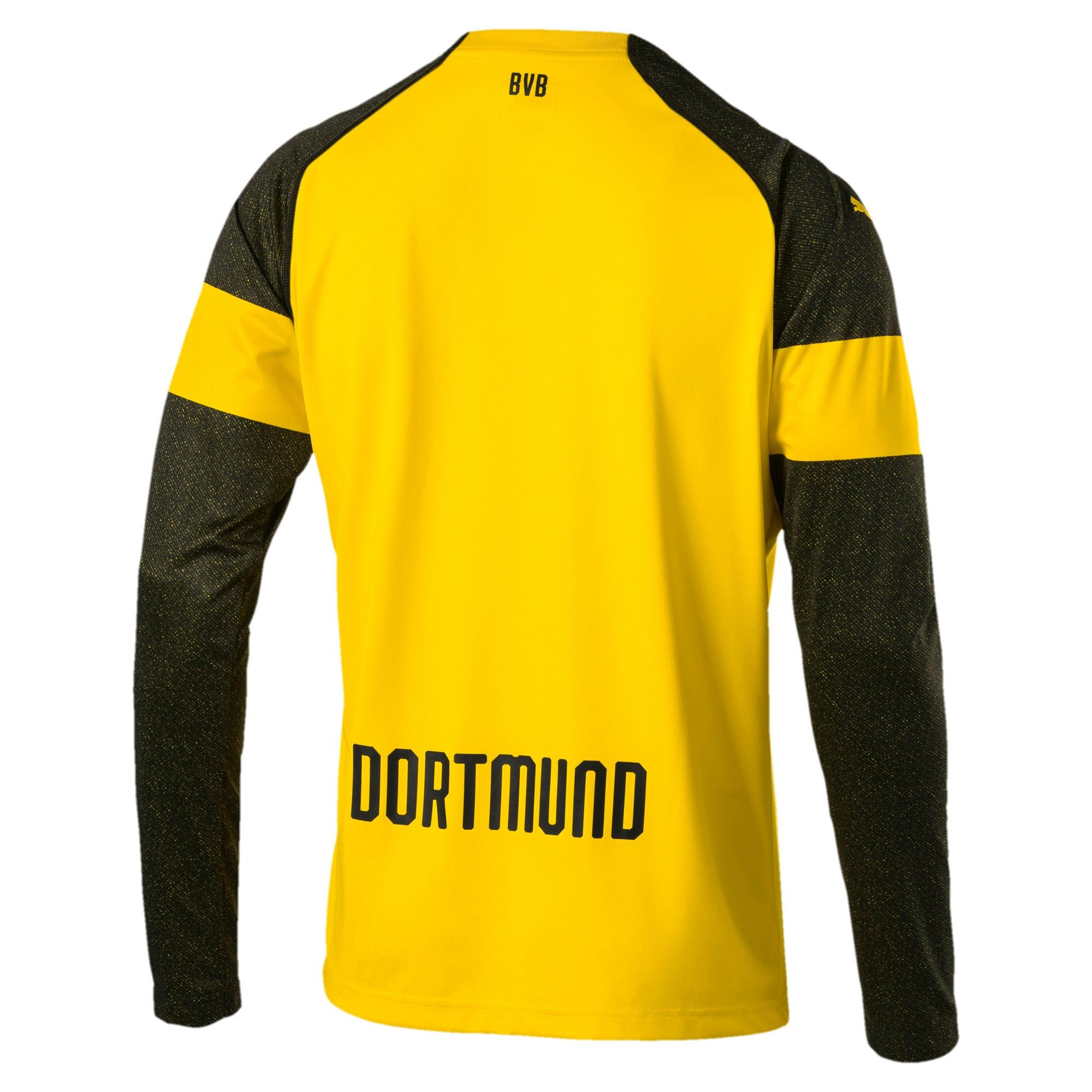 Thumbnail 3 of BVB LS ホーム レプリカシャツ, Cyber Yellow, medium-JPN