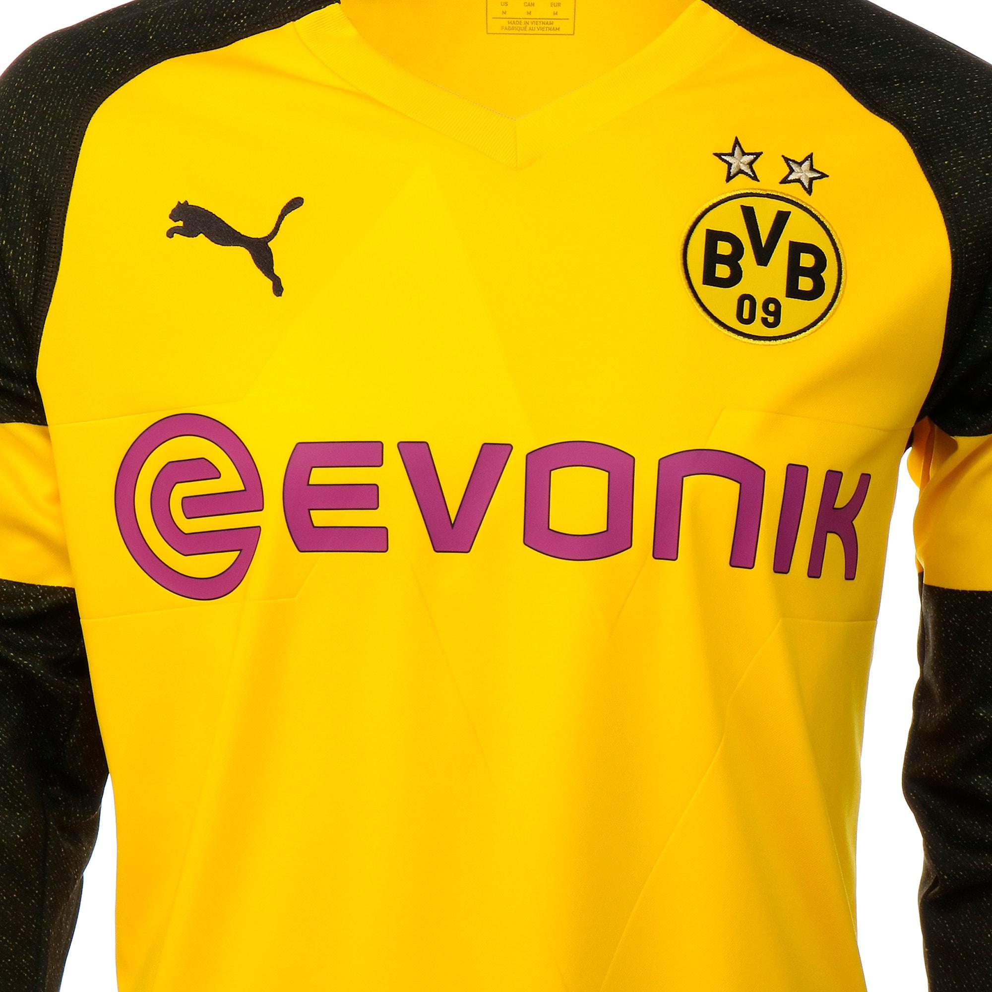 Thumbnail 7 of BVB LS ホーム レプリカシャツ, Cyber Yellow, medium-JPN