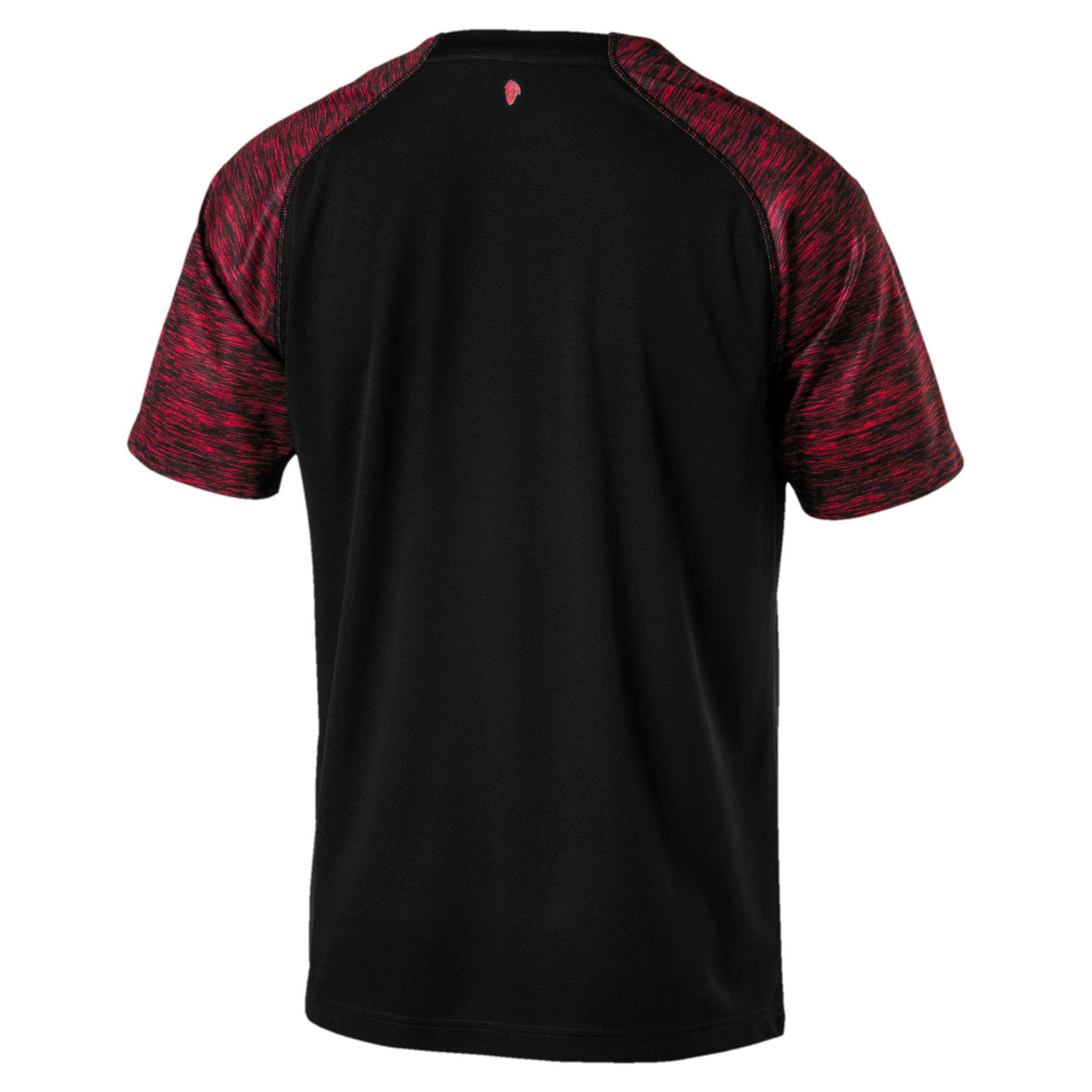 Thumbnail 3 of AC Milan Men's Replica Third Shirt, Puma Black-Tango Red, medium