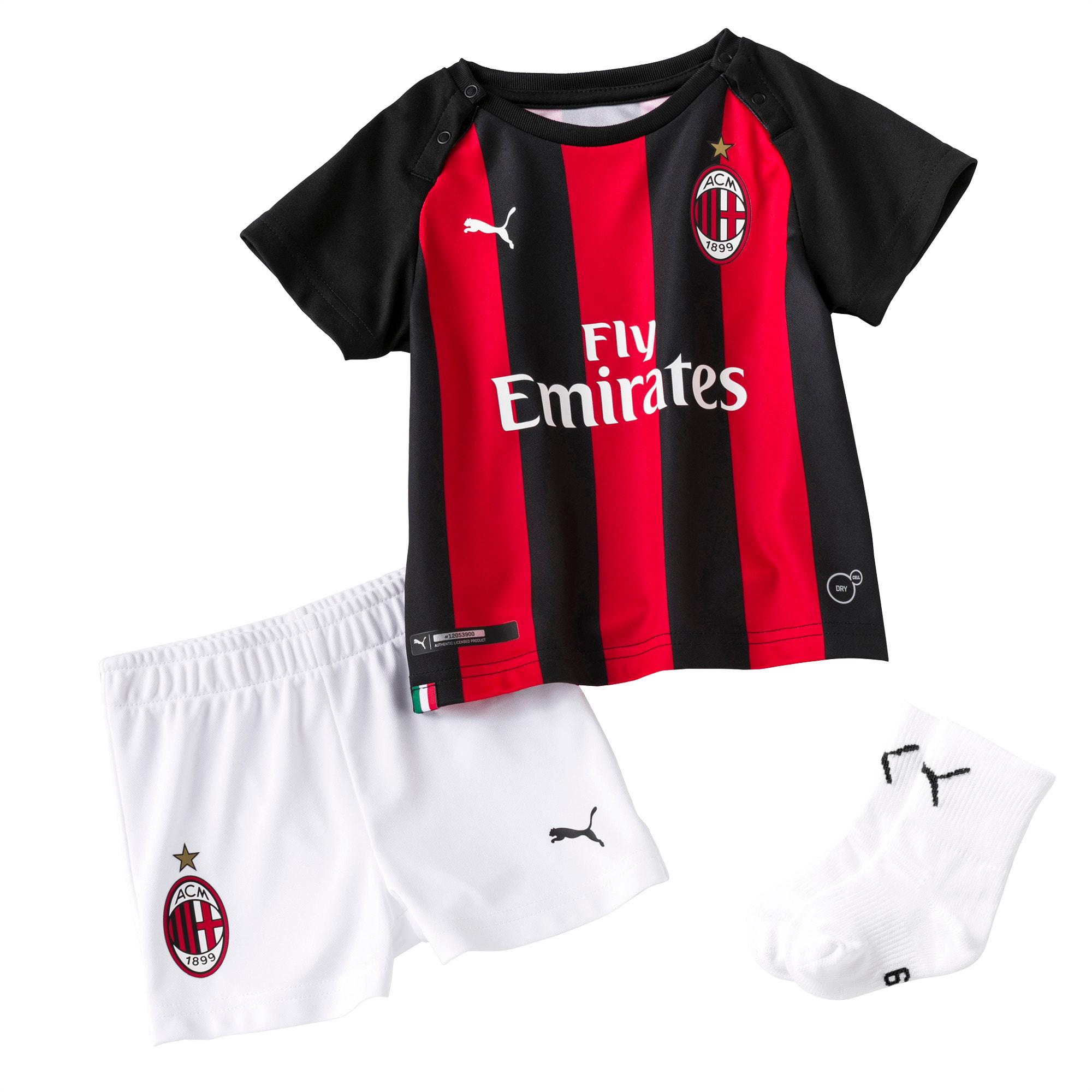 Ac Milan Home Baby Kit Puma Football Puma United Kingdom