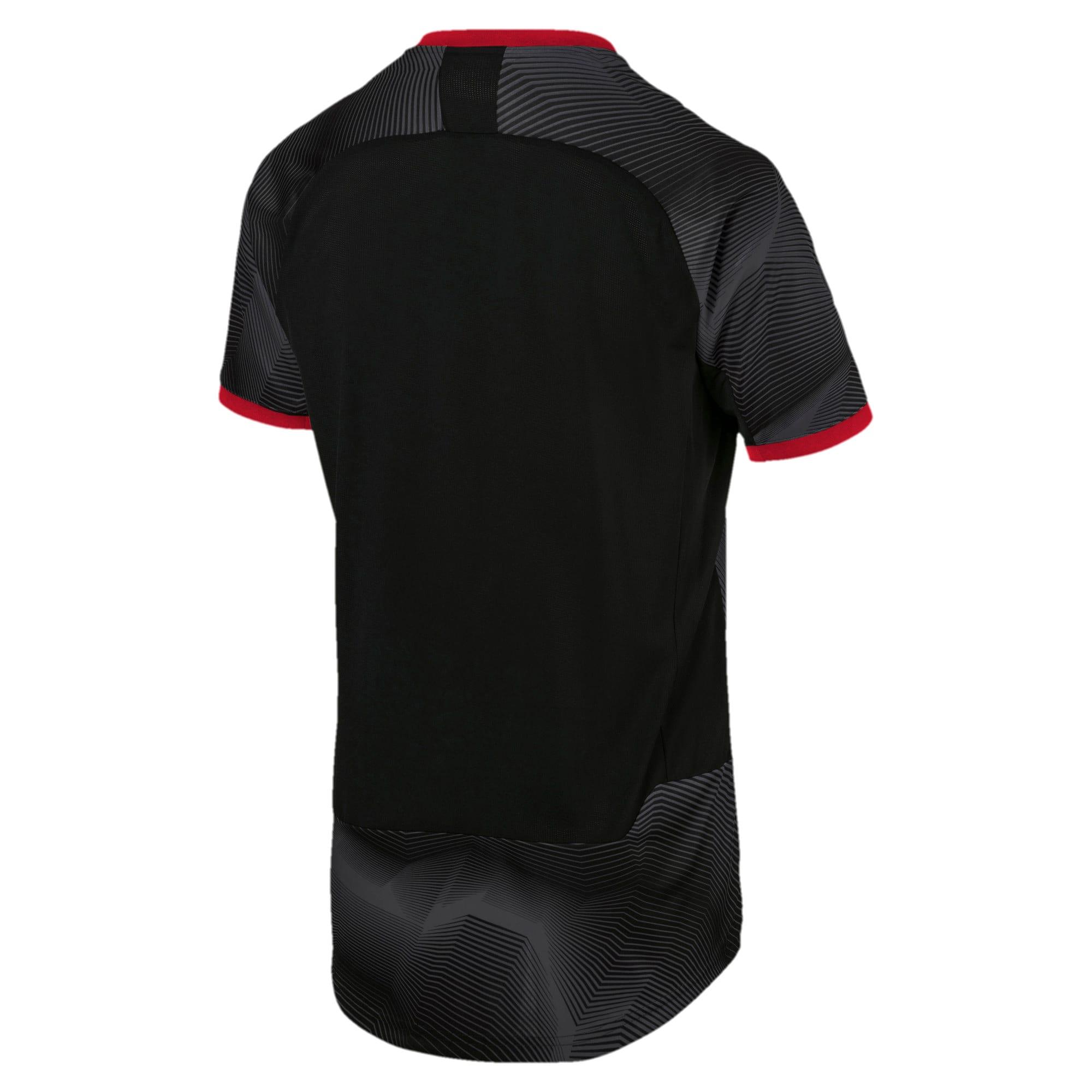 Thumbnail 3 of AC Milan Stadium Jersey, Puma Black-Dark Shadow, medium