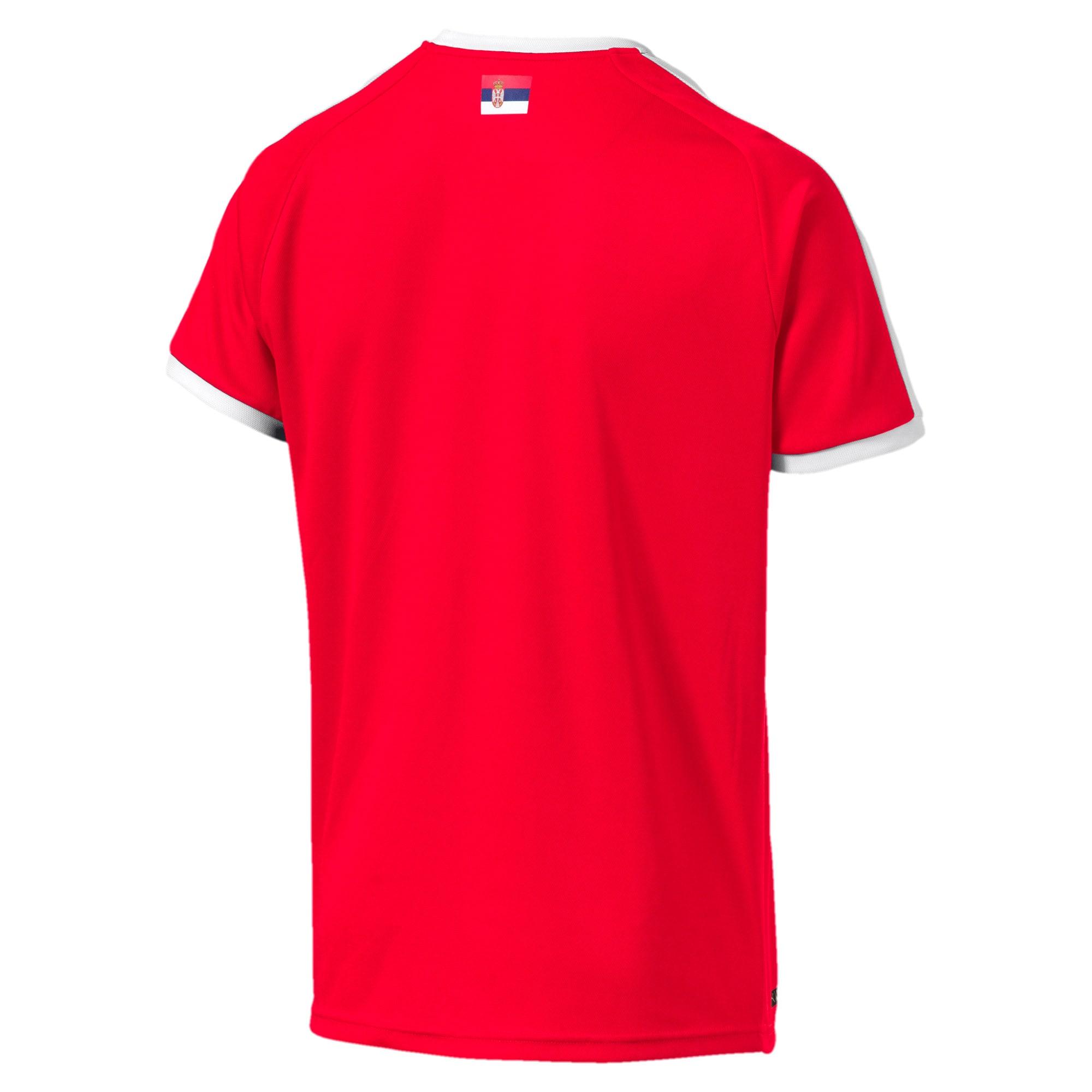 Thumbnail 2 of Serbia Home Shirt, Puma Red-Puma White, medium