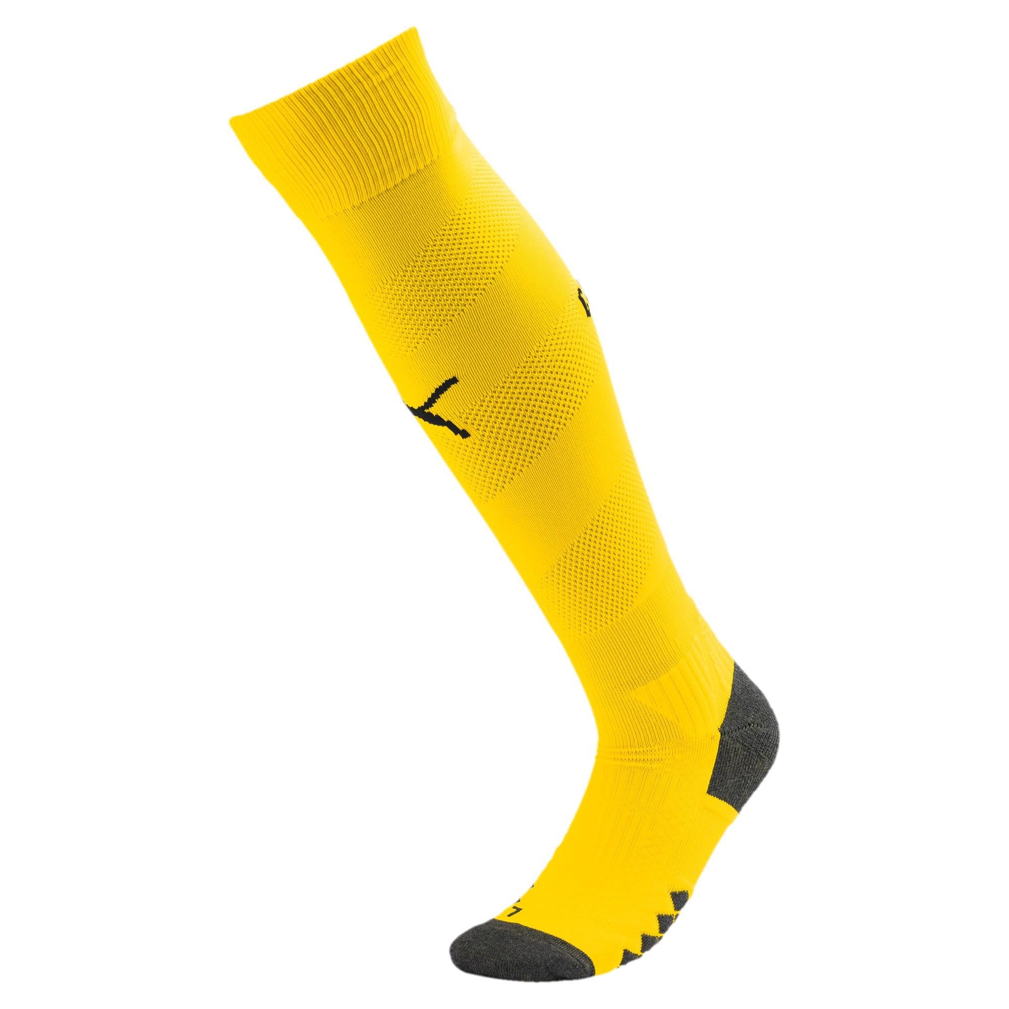 Thumbnail 1 of Man City Spiral Men's Socks, Cyber Yellow-Puma Black, medium