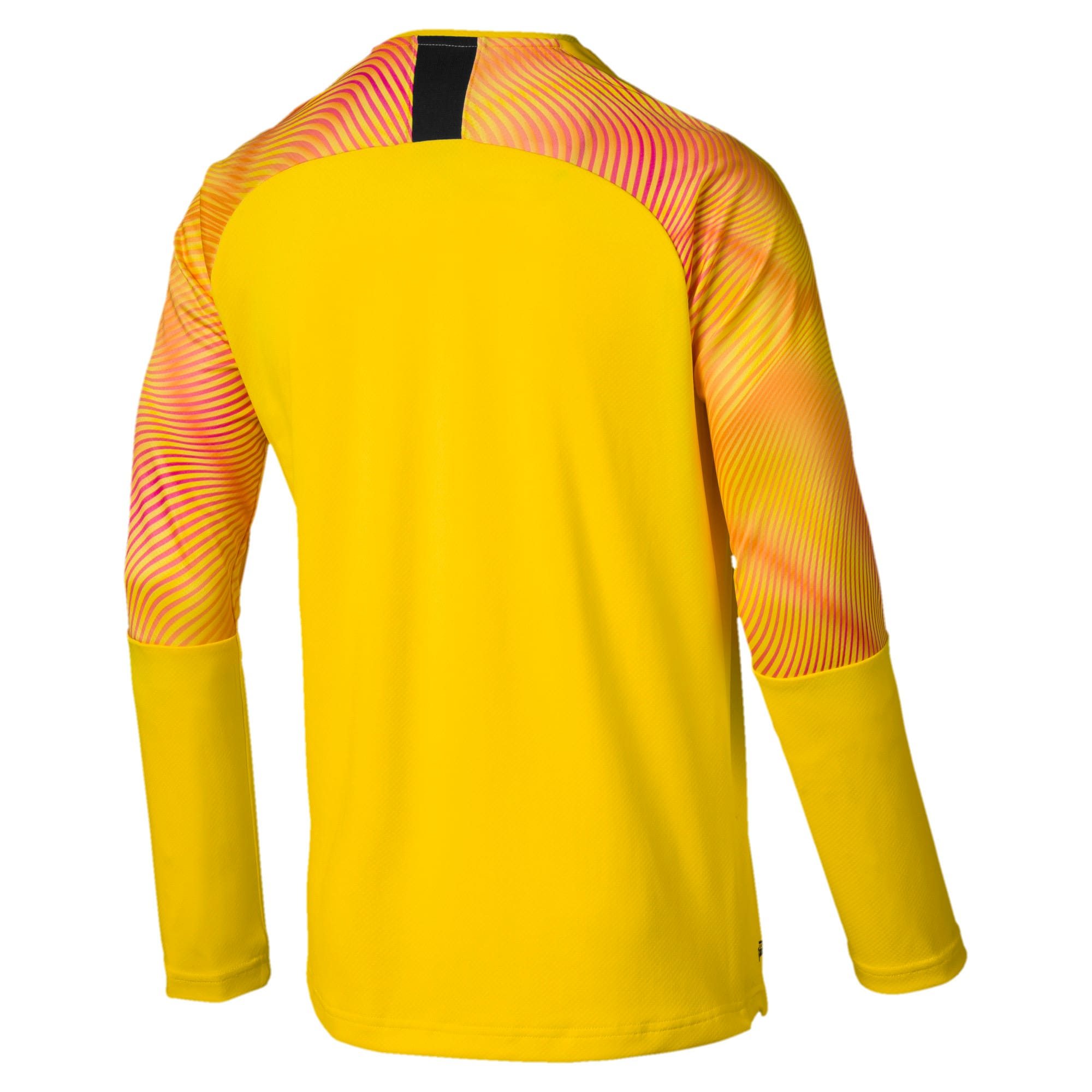 Thumbnail 2 of Man City Men's Replica Goalkeeper Jersey, Cyber Yellow-Puma Black, medium