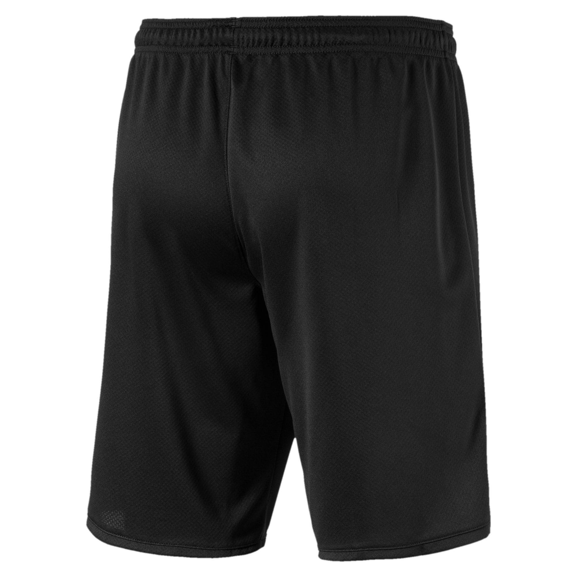 Thumbnail 2 of Man City Men's Third Replica Shorts, Puma Black-Georgia Peach, medium