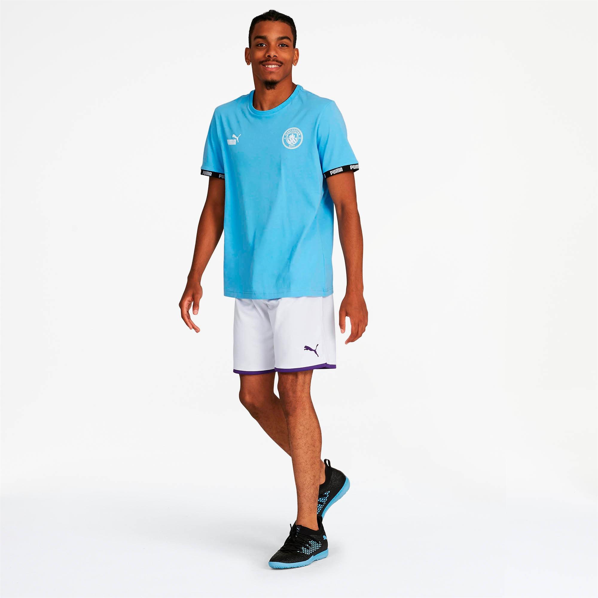 Thumbnail 3 of Manchester City Men's Third Replica Shorts, Puma White-Tillandsia Purple, medium