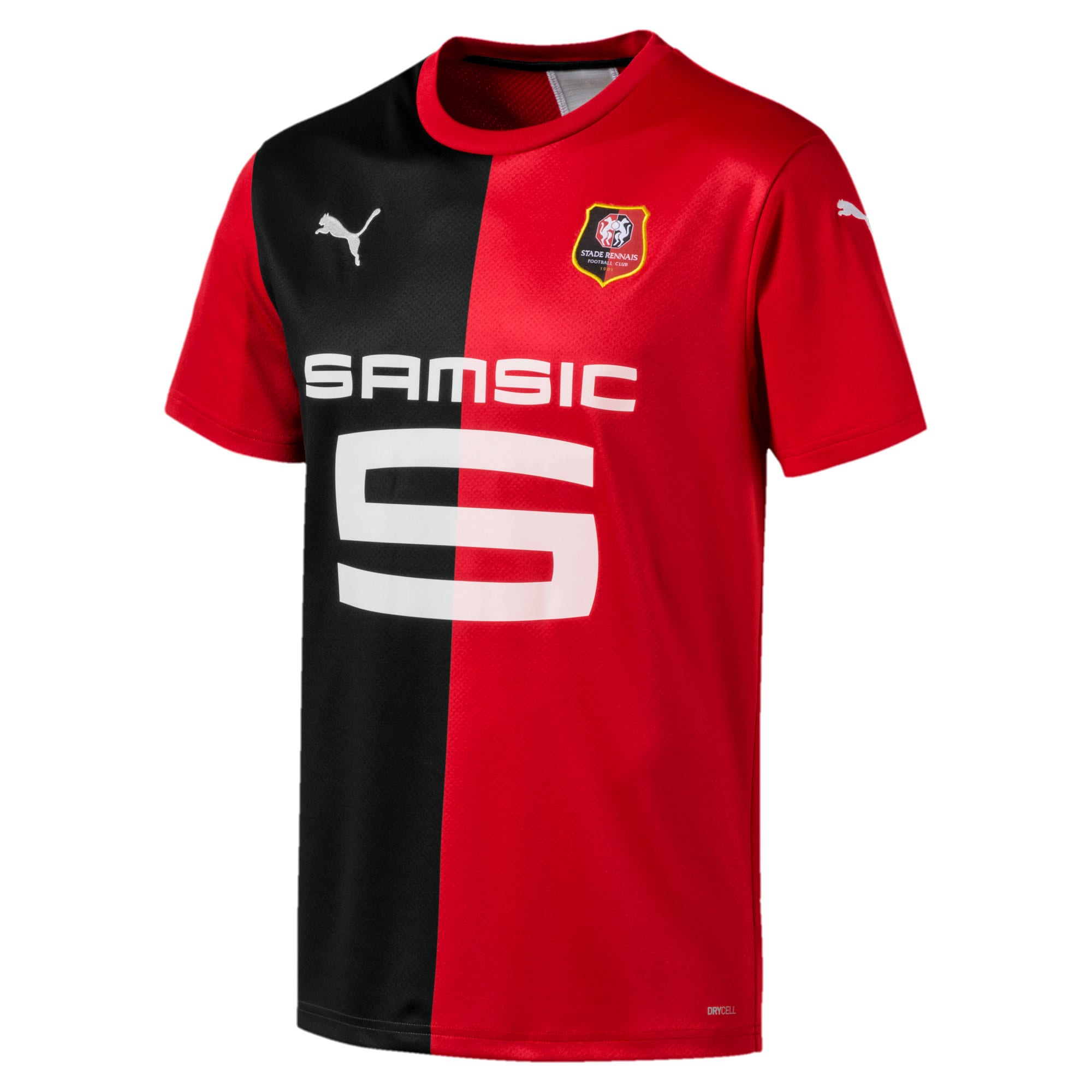 Thumbnail 1 of Stade Rennes FC Herren Replica Heimtrikot, Puma Red-Puma Black, medium