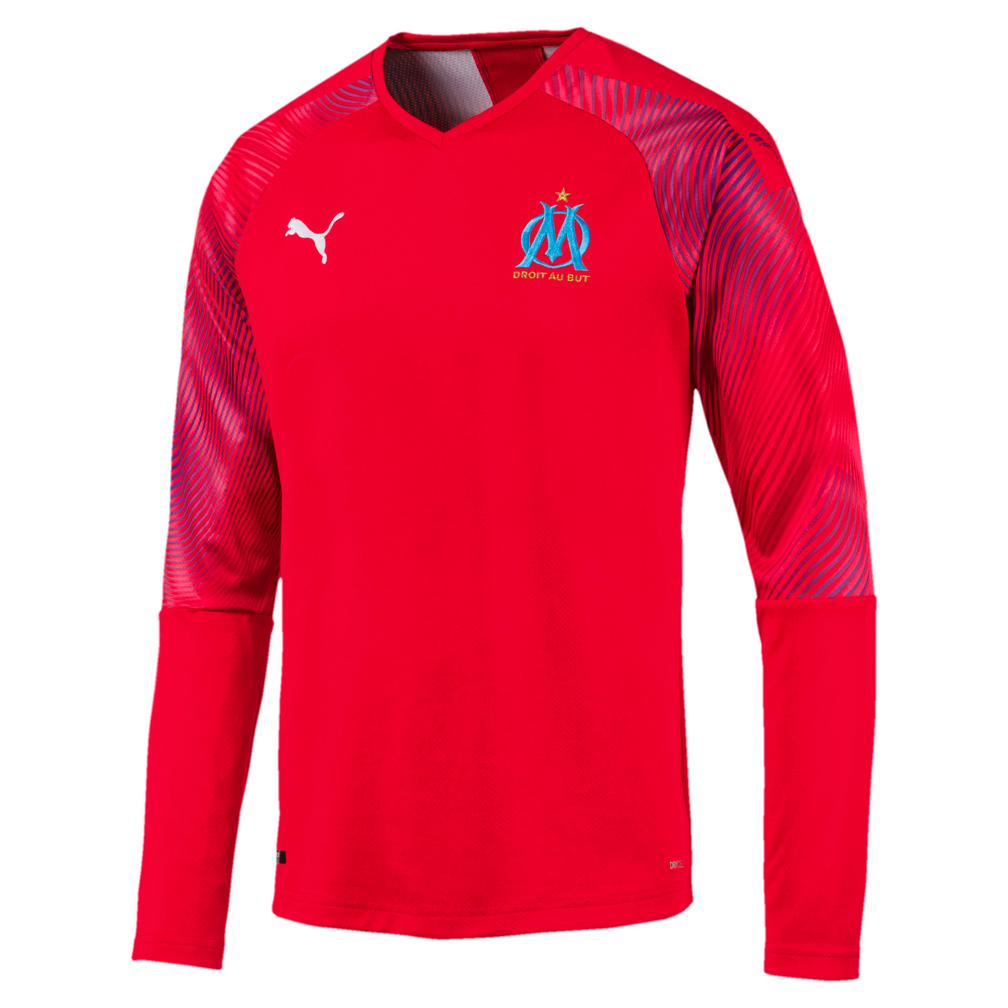Thumbnail 1 of Olympique de Marseille Men's Replica Goalkeeper Jersey, Puma Red, medium