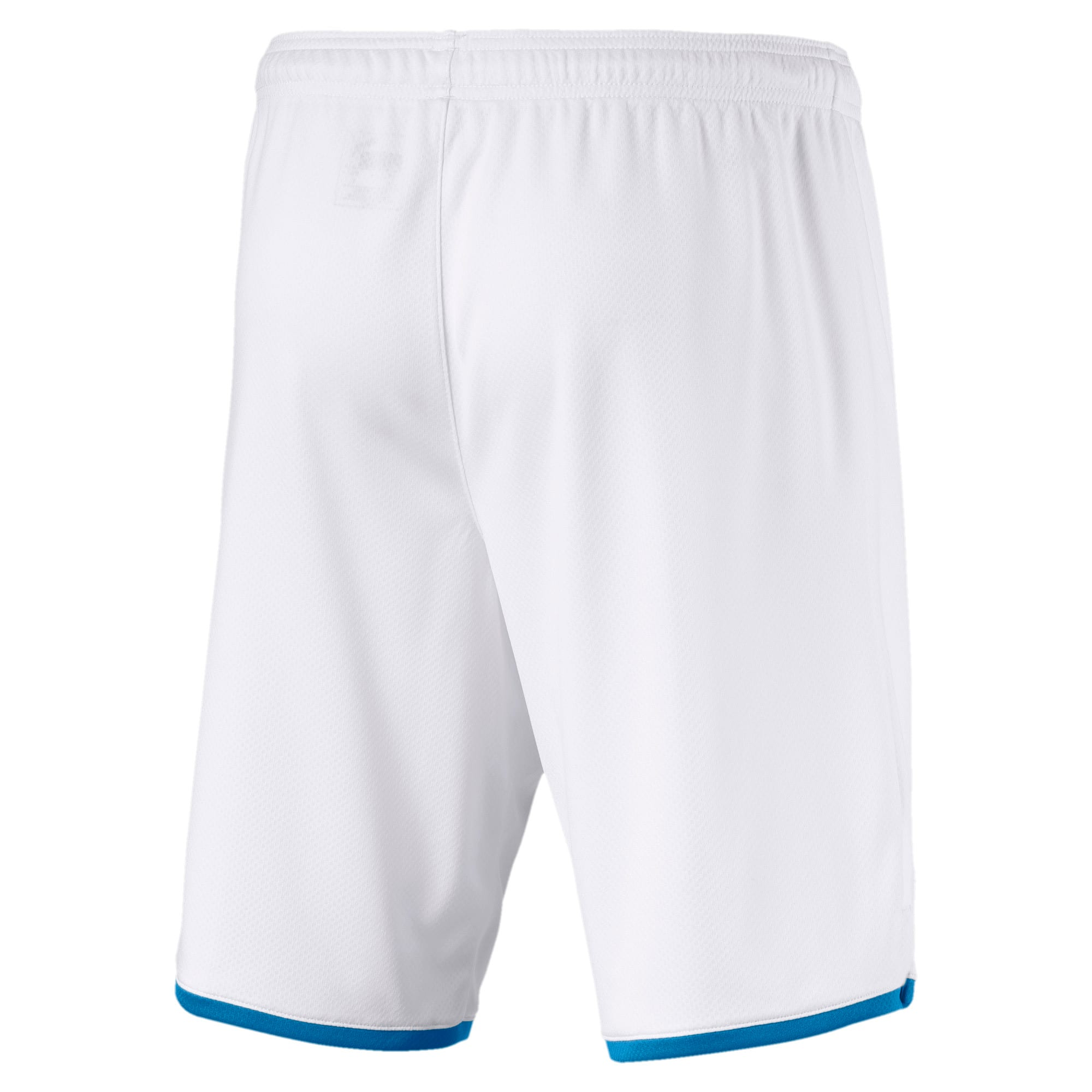 Thumbnail 2 of Olympique de Marseille Men's Replica Shorts, Puma White-Bleu Azur, medium