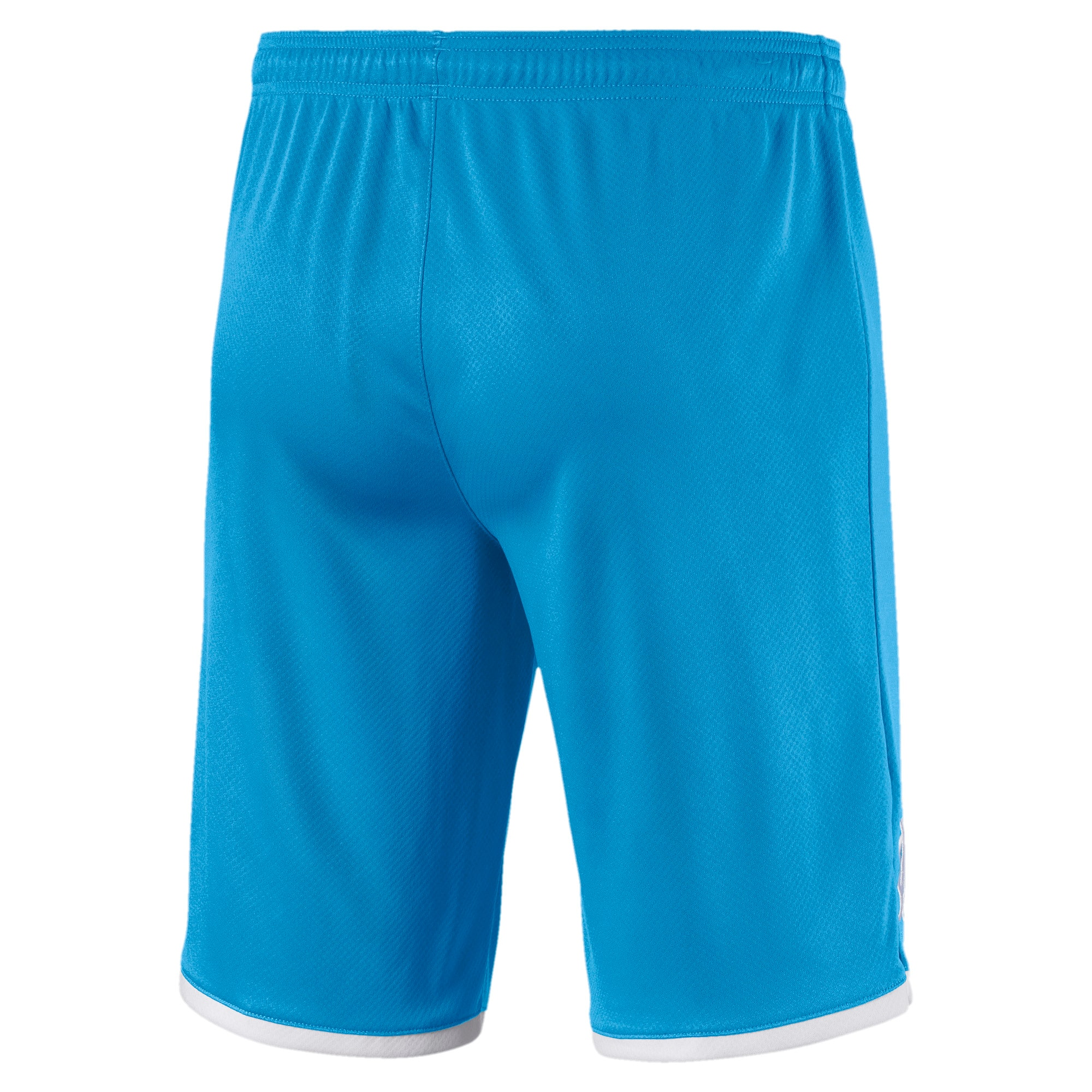 Thumbnail 2 of Short Olympique de Marseille Replica pour homme, Bleu Azur-Puma White, medium