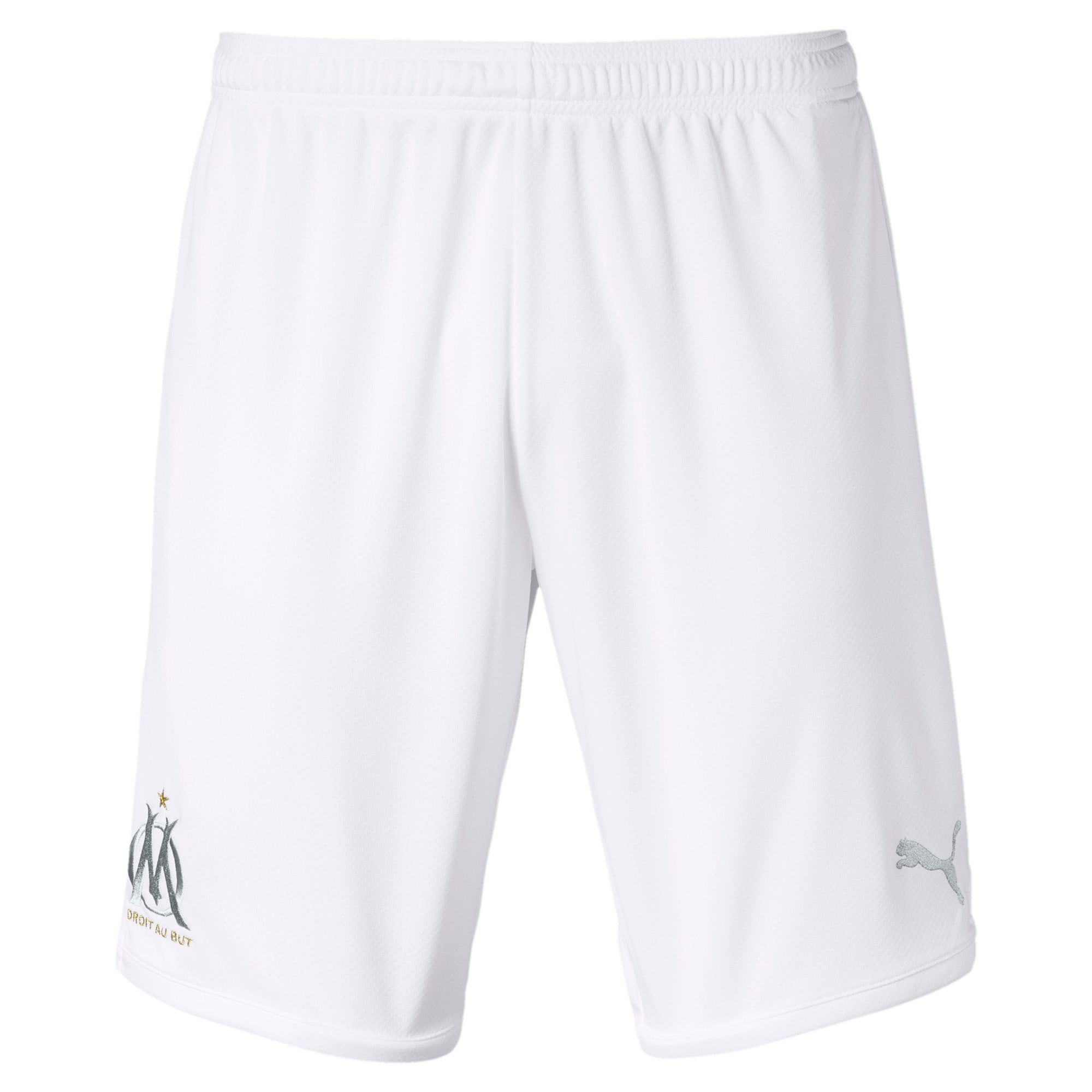 Thumbnail 1 of Olympique de Marseille Men's Replica Shorts, Puma White-High Rise, medium