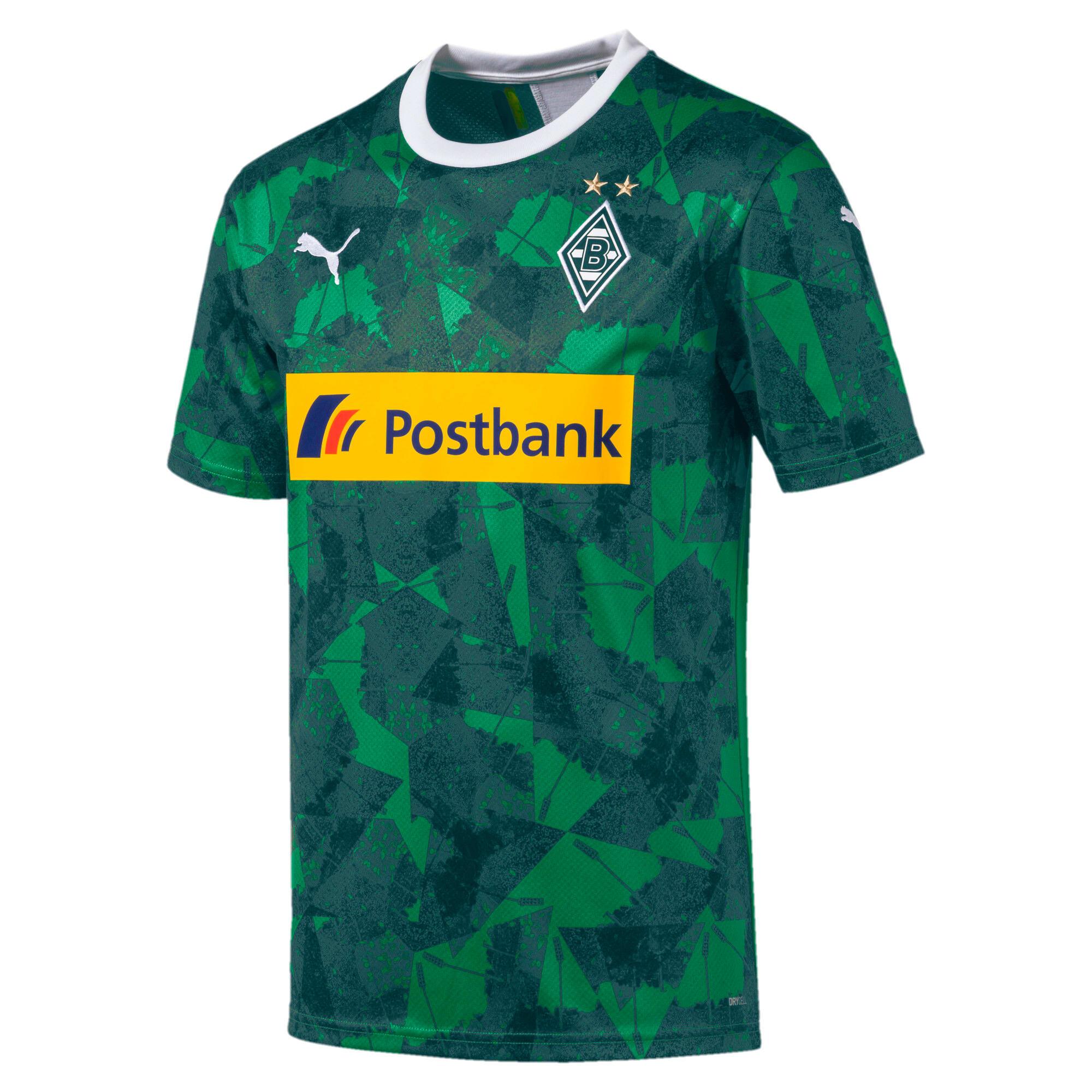 Thumbnail 1 of Borussia Mönchengladbach Men's Replica Third Jersey, Amazon Green-Ponderosa Pine, medium