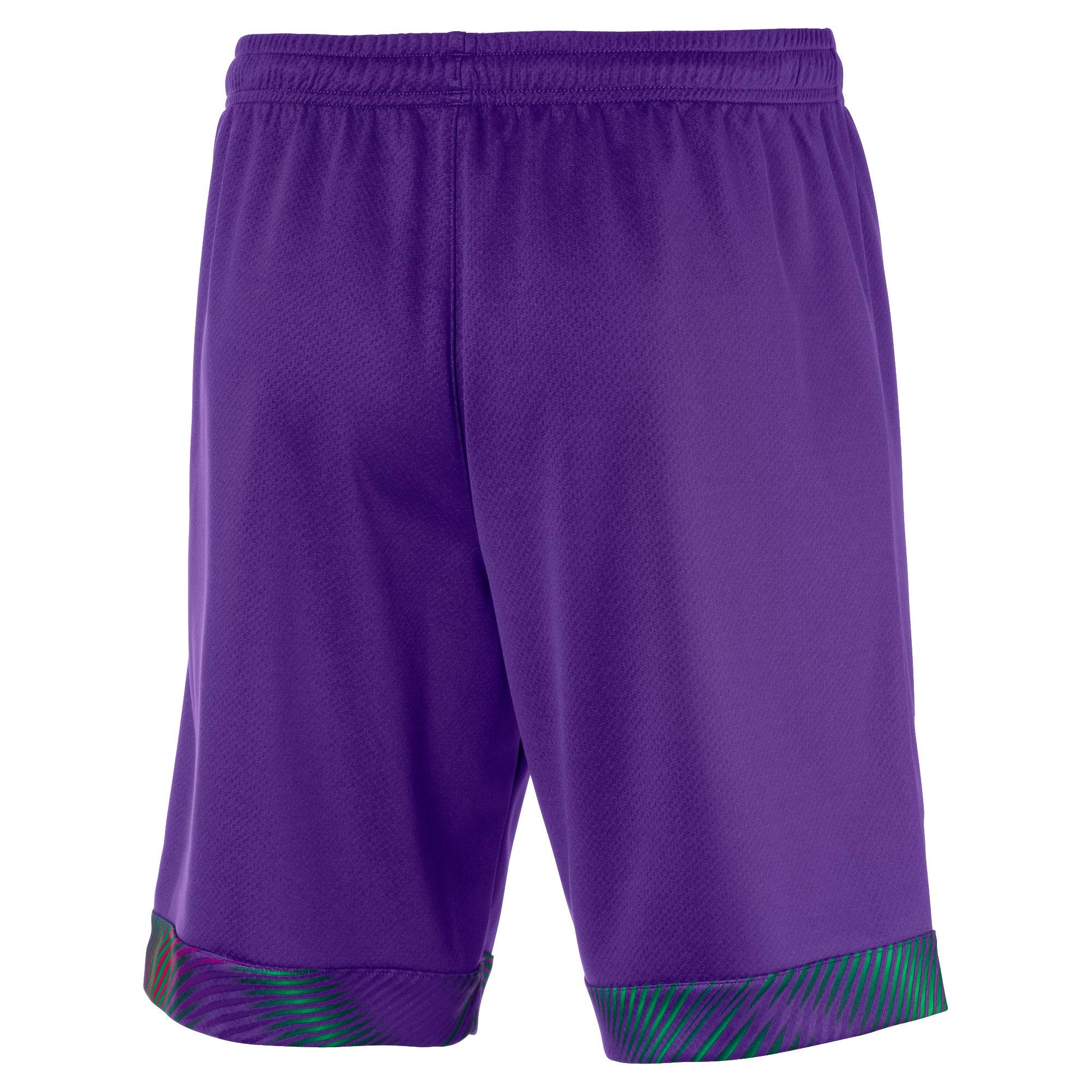 Thumbnail 2 of Borussia Mönchengladbach Men's Goalkeeper Replica Shorts, Prism Violet, medium