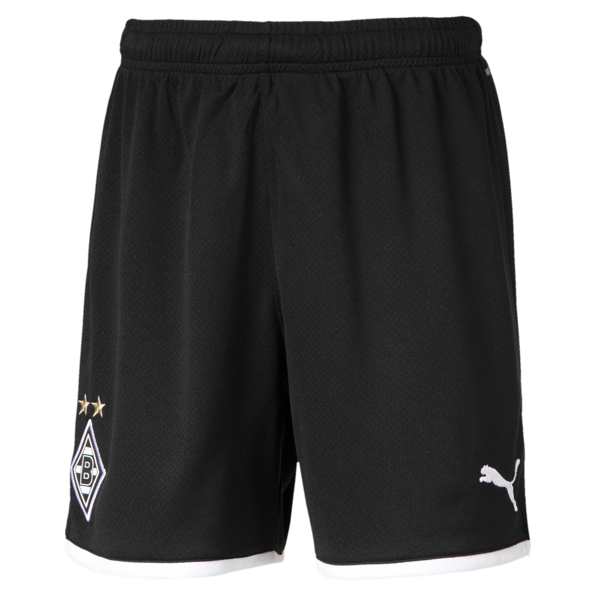 Thumbnail 1 van Borussia Mönchengladbach replica-short voor jongens, Puma Black, medium
