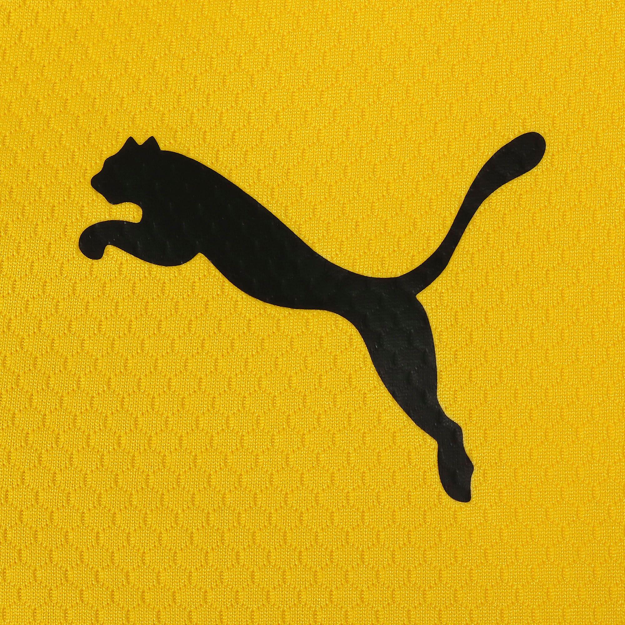 Thumbnail 4 of ドルトムント BVB SS ホーム オーセンティック シャツ 半袖, Cyber Yellow-Puma Black, medium-JPN