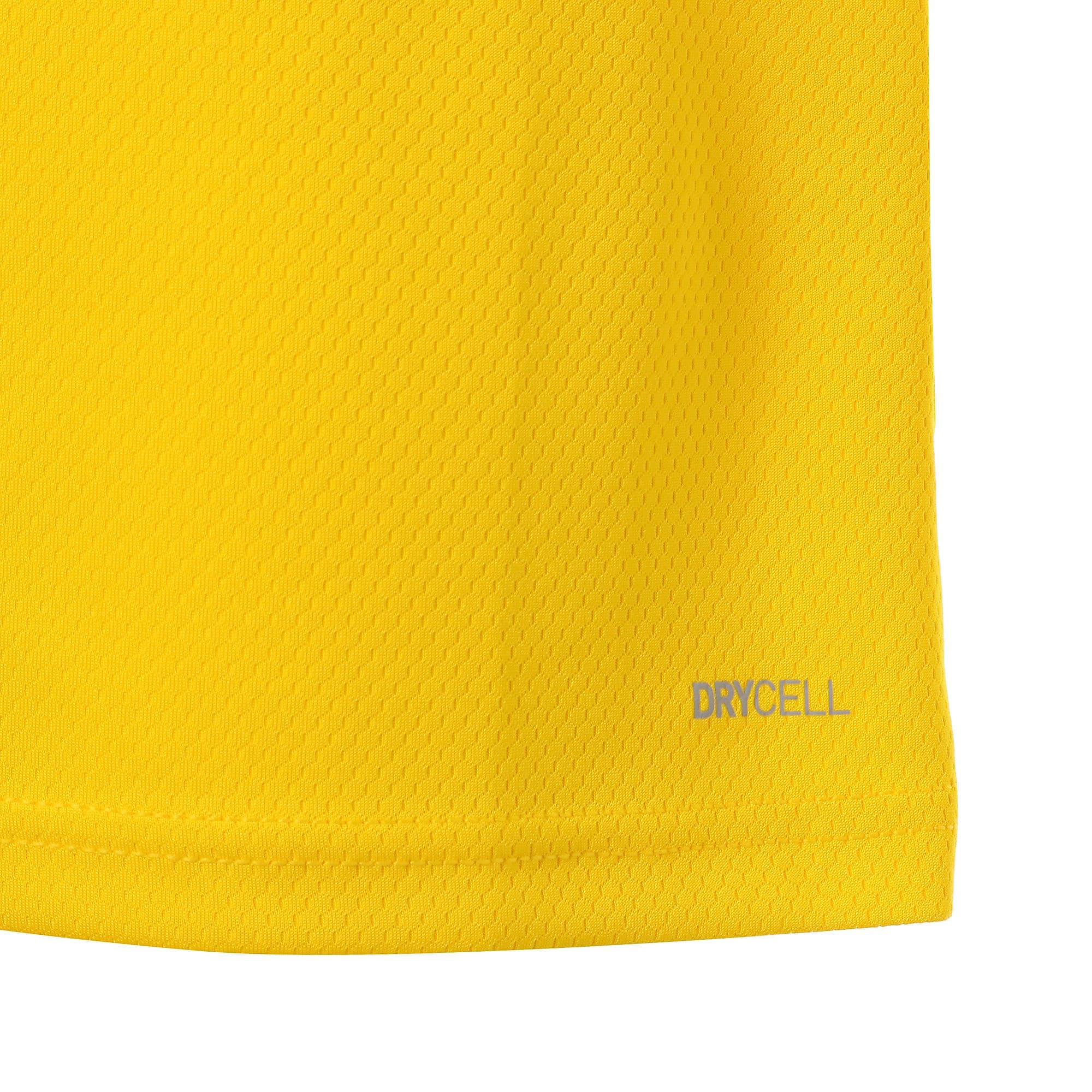 Thumbnail 6 of ドルトムント BVB SS ホーム オーセンティック シャツ 半袖, Cyber Yellow-Puma Black, medium-JPN
