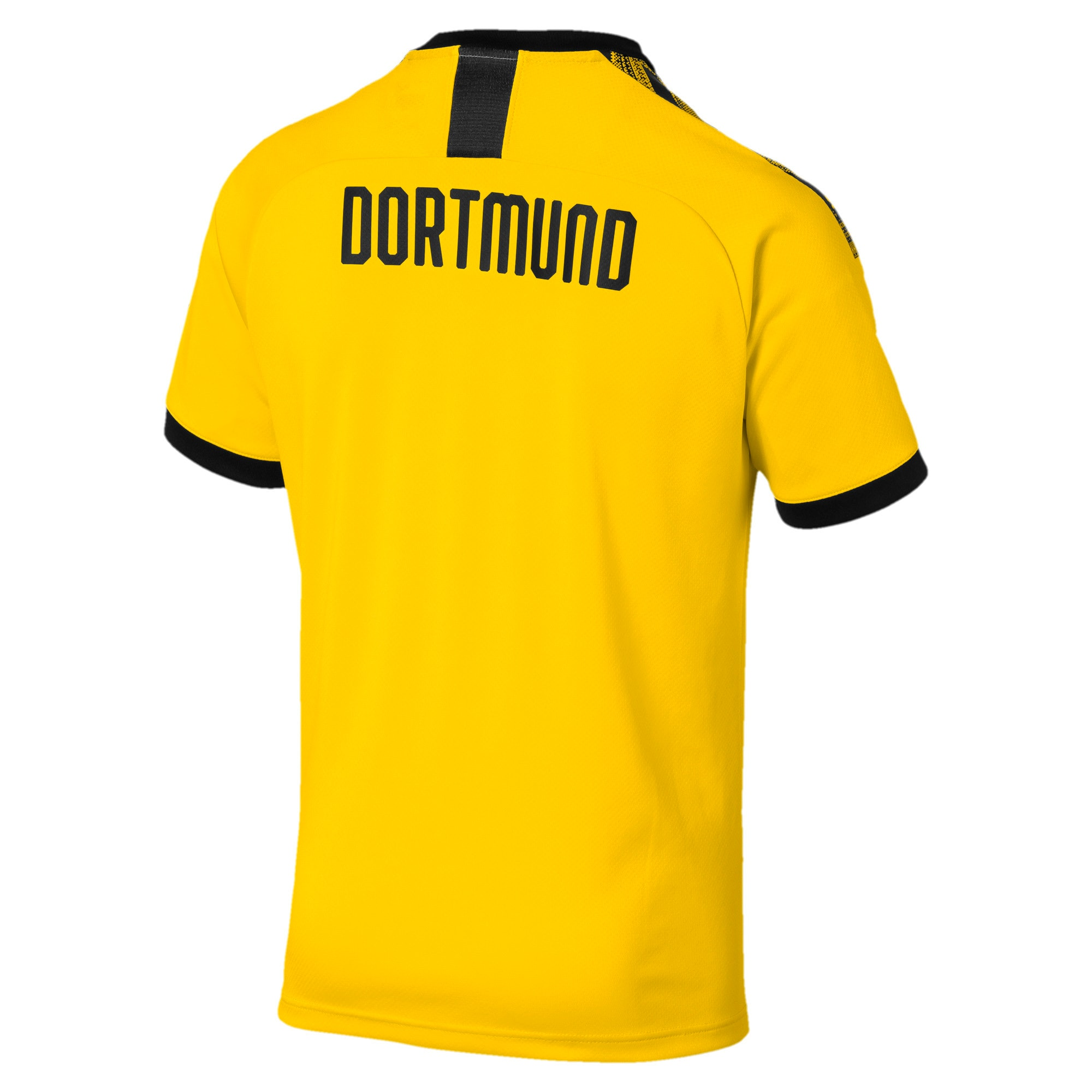 Thumbnail 2 of BVB Men's Home Replica Jersey, Cyber Yellow-Puma Black, medium