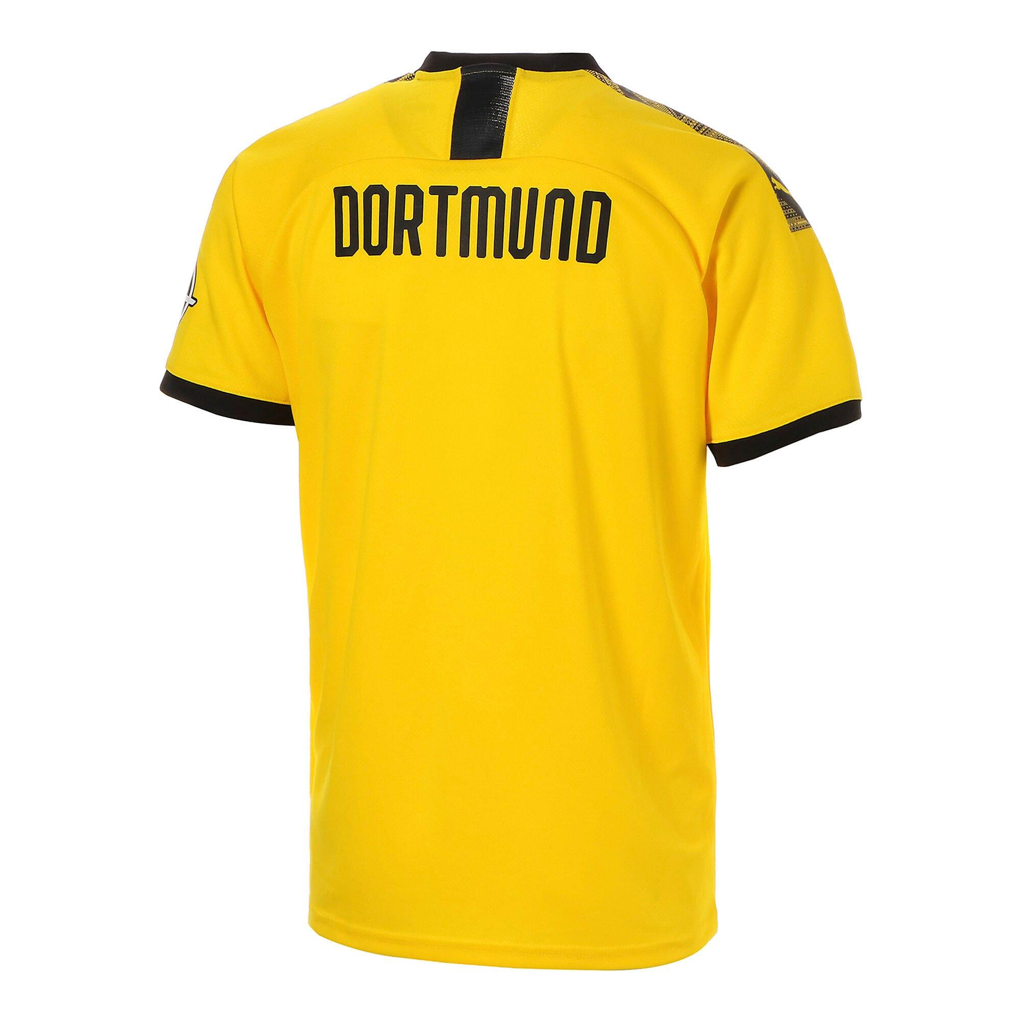 Thumbnail 3 of ドルトムント BVB SS ホーム レプリカシャツ 半袖, Cyber Yellow-Puma Black, medium-JPN