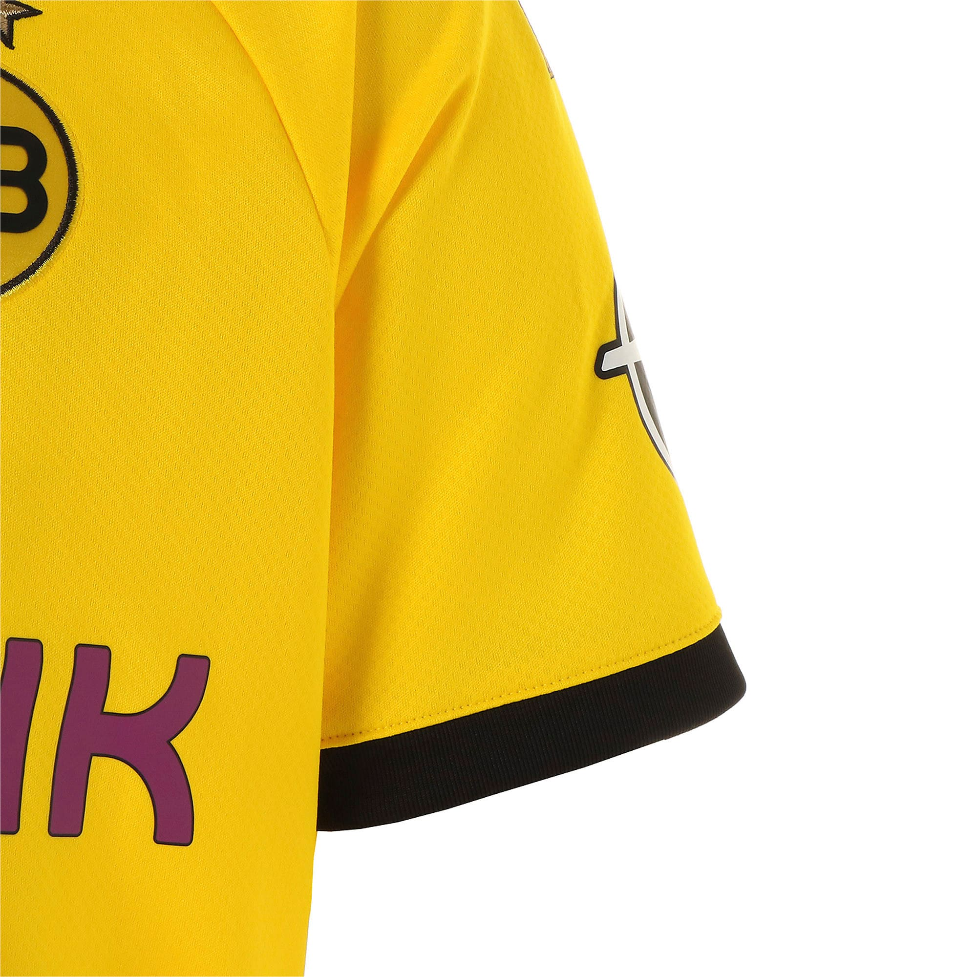 Thumbnail 5 of ドルトムント BVB SS ホーム レプリカシャツ 半袖, Cyber Yellow-Puma Black, medium-JPN