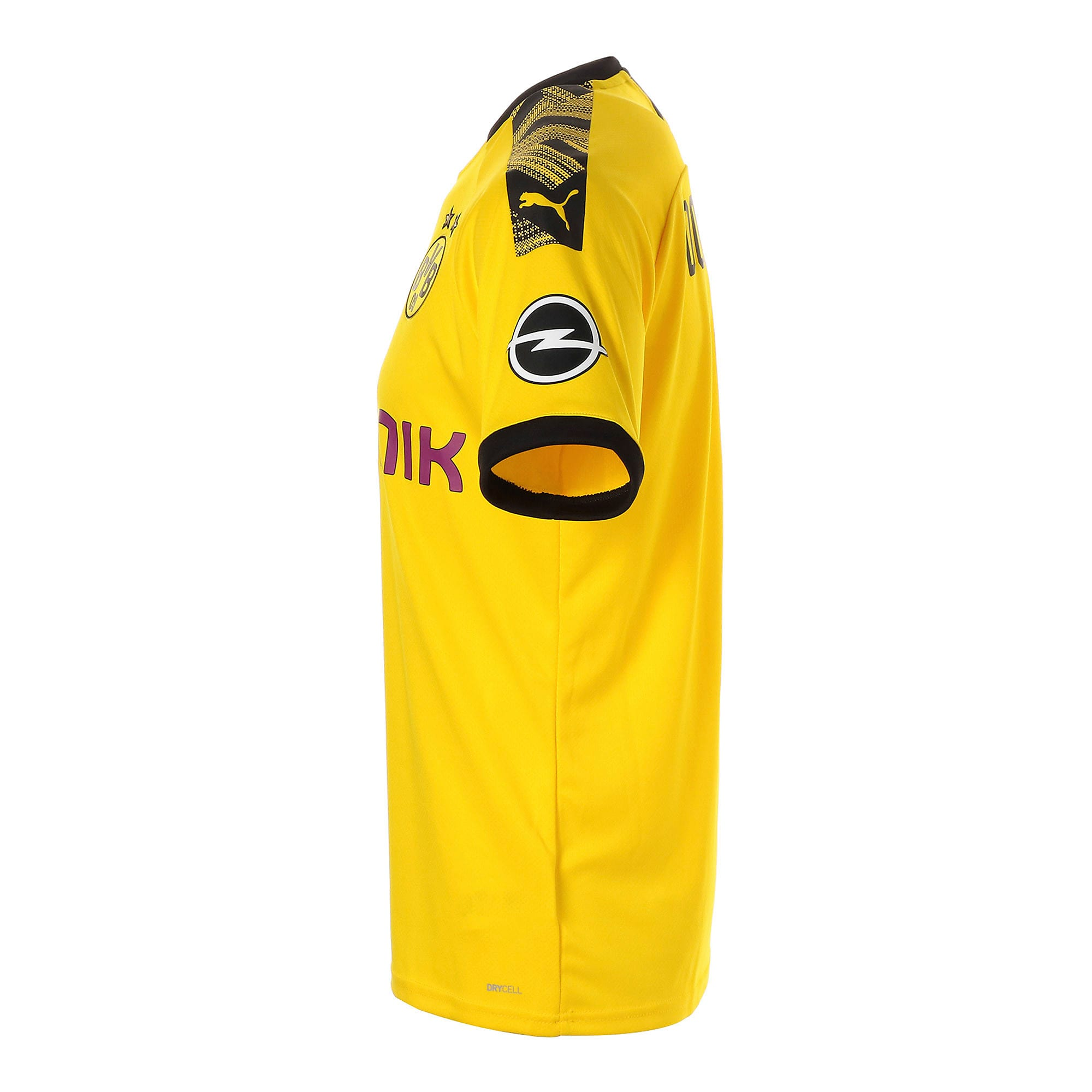 Thumbnail 2 of ドルトムント BVB SS ホーム レプリカシャツ 半袖, Cyber Yellow-Puma Black, medium-JPN
