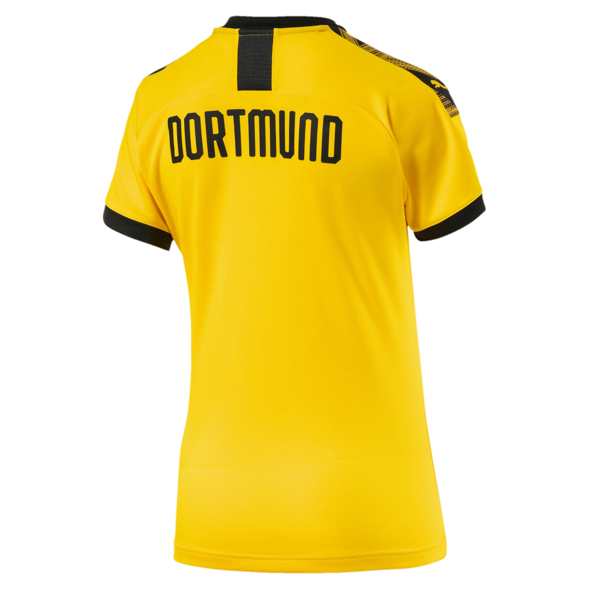 Thumbnail 2 of BVB Women's Home Replica Jersey, Cyber Yellow-Puma Black, medium