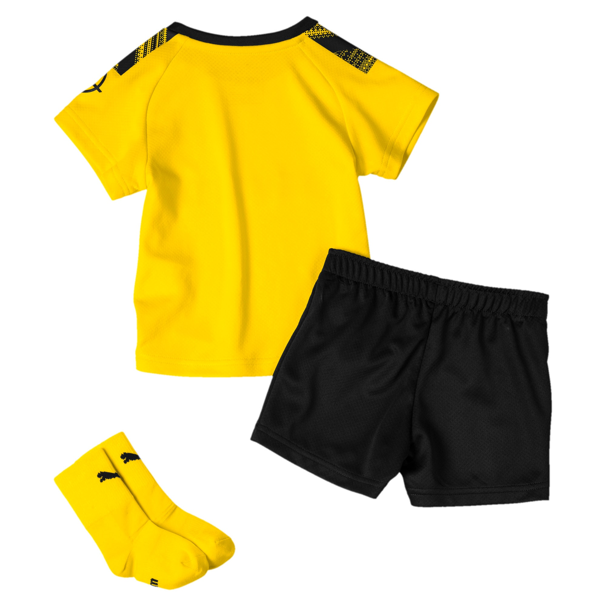 Thumbnail 2 of BVB mini-thuisset voor baby's, Cyber Yellow-Puma Black, medium