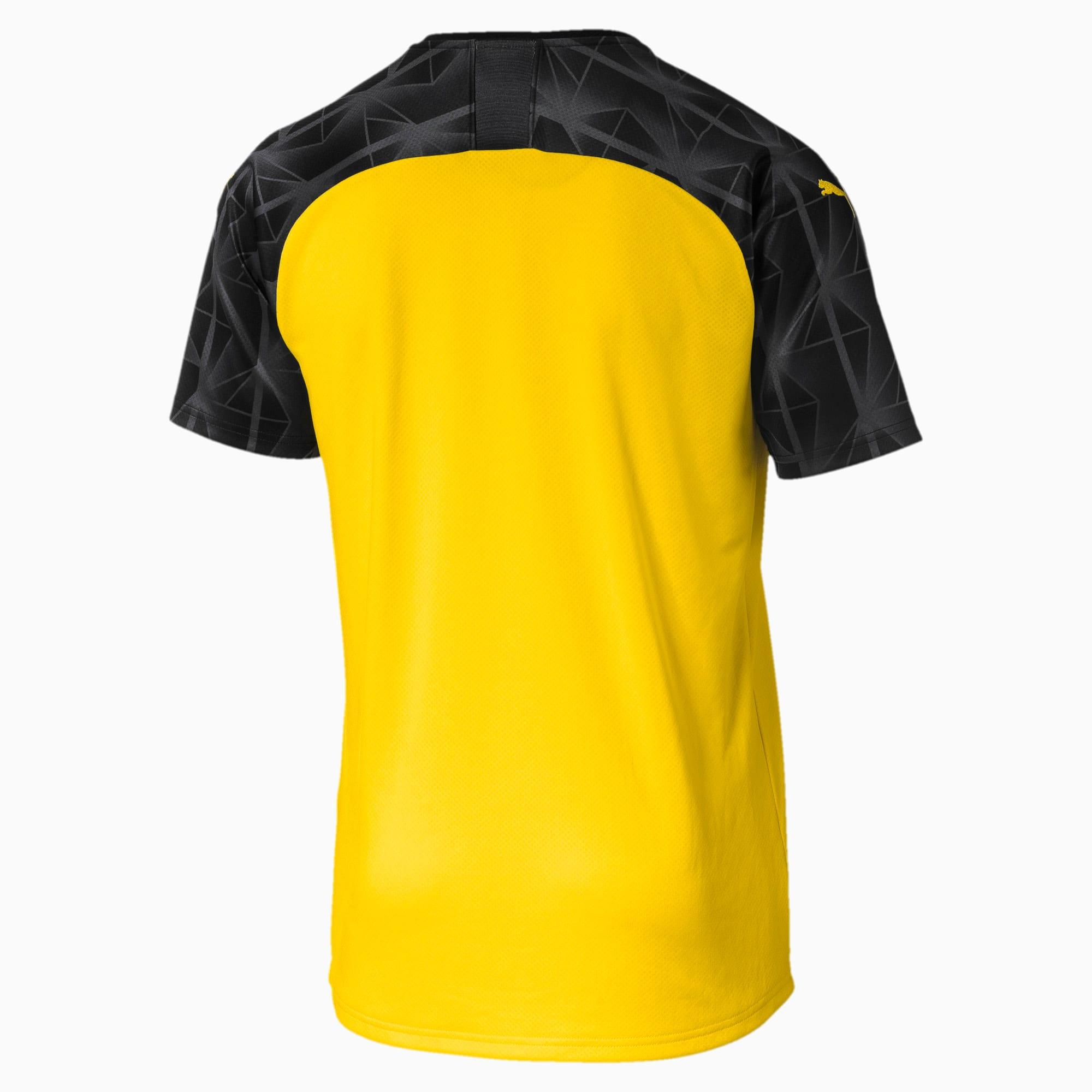 PUMA Mens Standard BVB Cup Shirt Replica with Evonik Logo