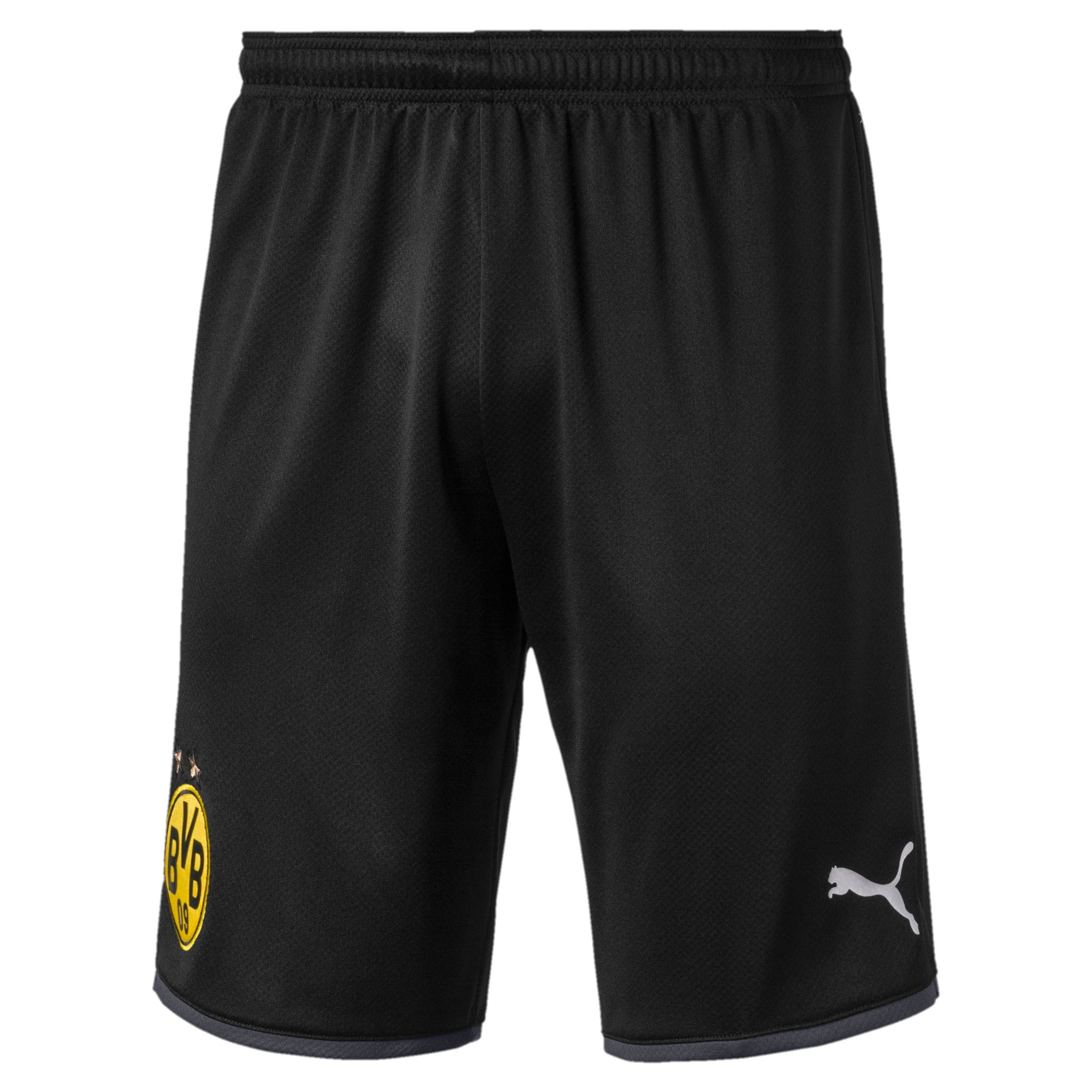 Thumbnail 1 of BVB Men's Away Replica Shorts, Puma Black-Ebony, medium