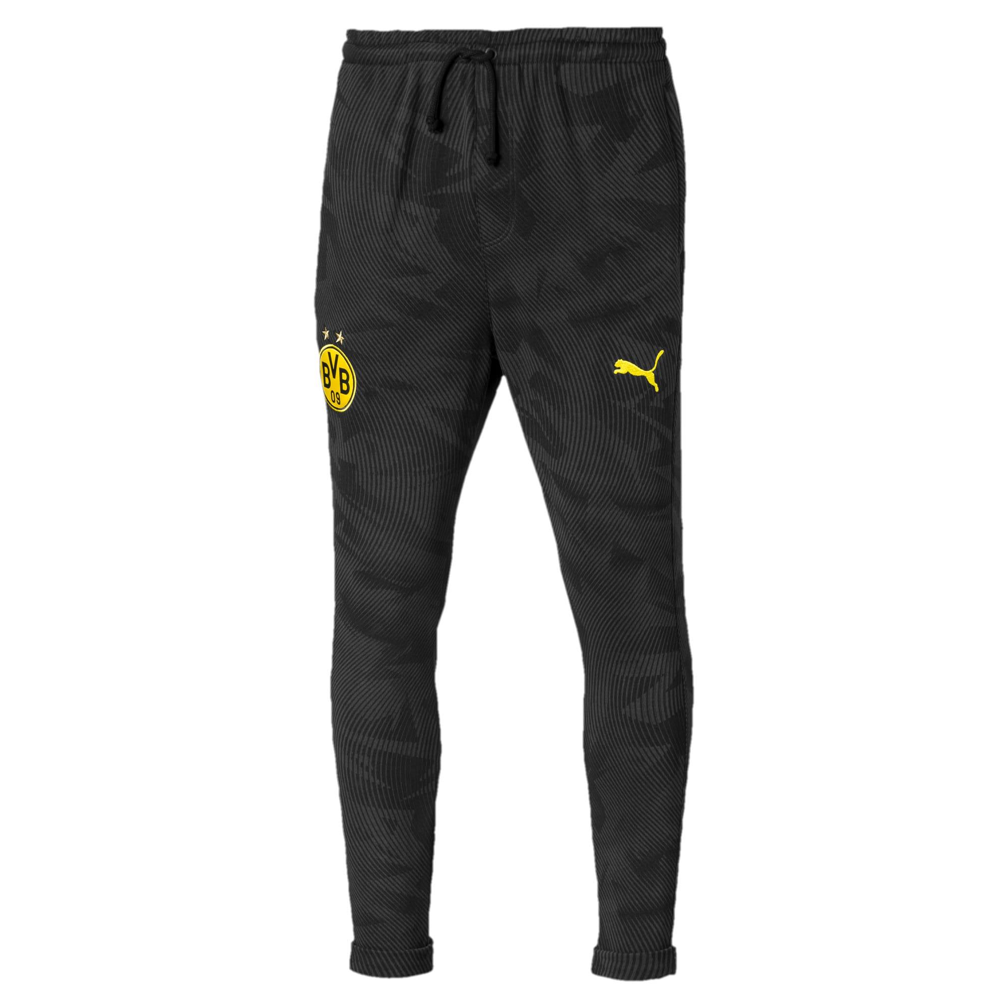 Thumbnail 4 of BVB Men's Casual Pants, Puma Black-Phantom Black, medium