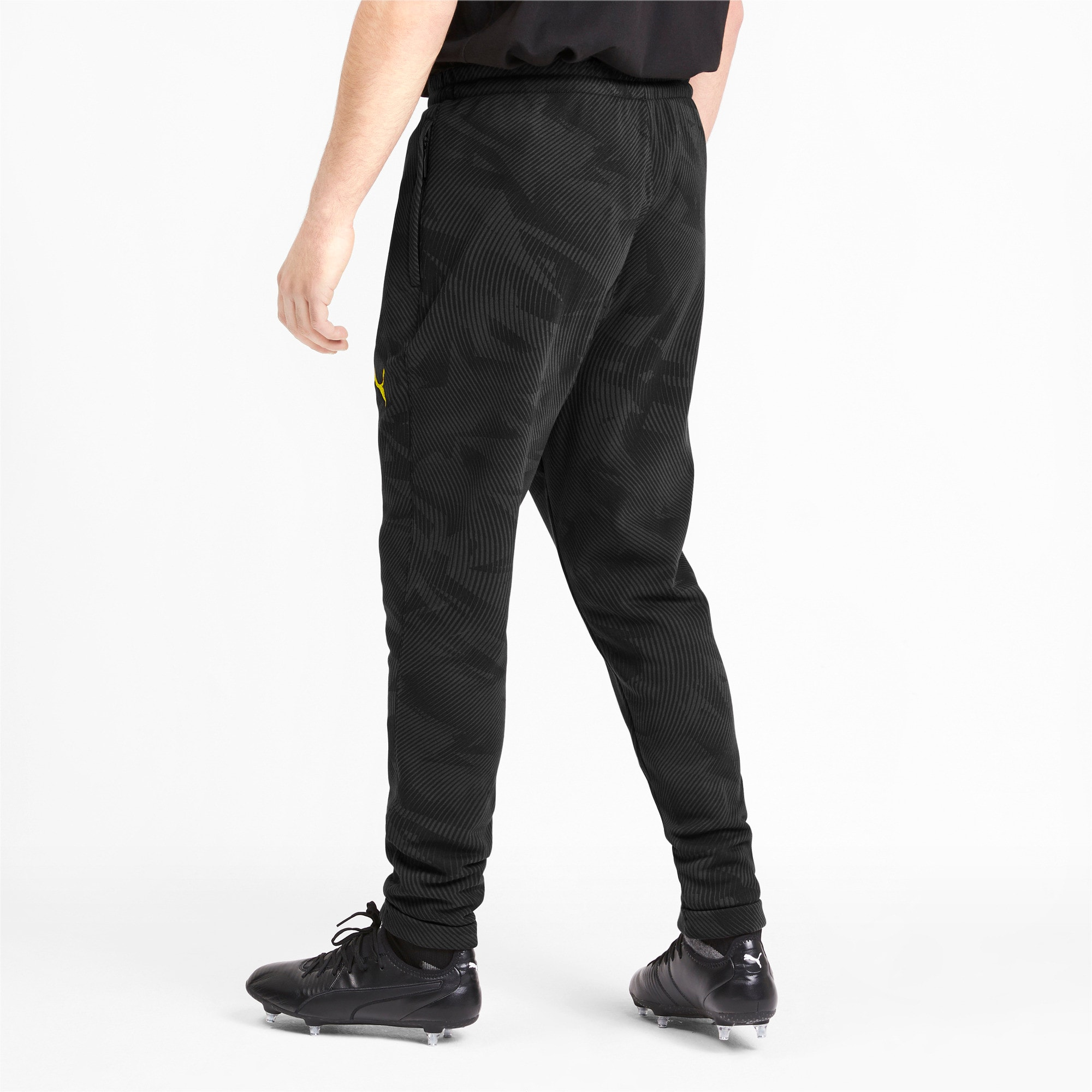 Thumbnail 2 of BVB Men's Casual Pants, Puma Black-Phantom Black, medium