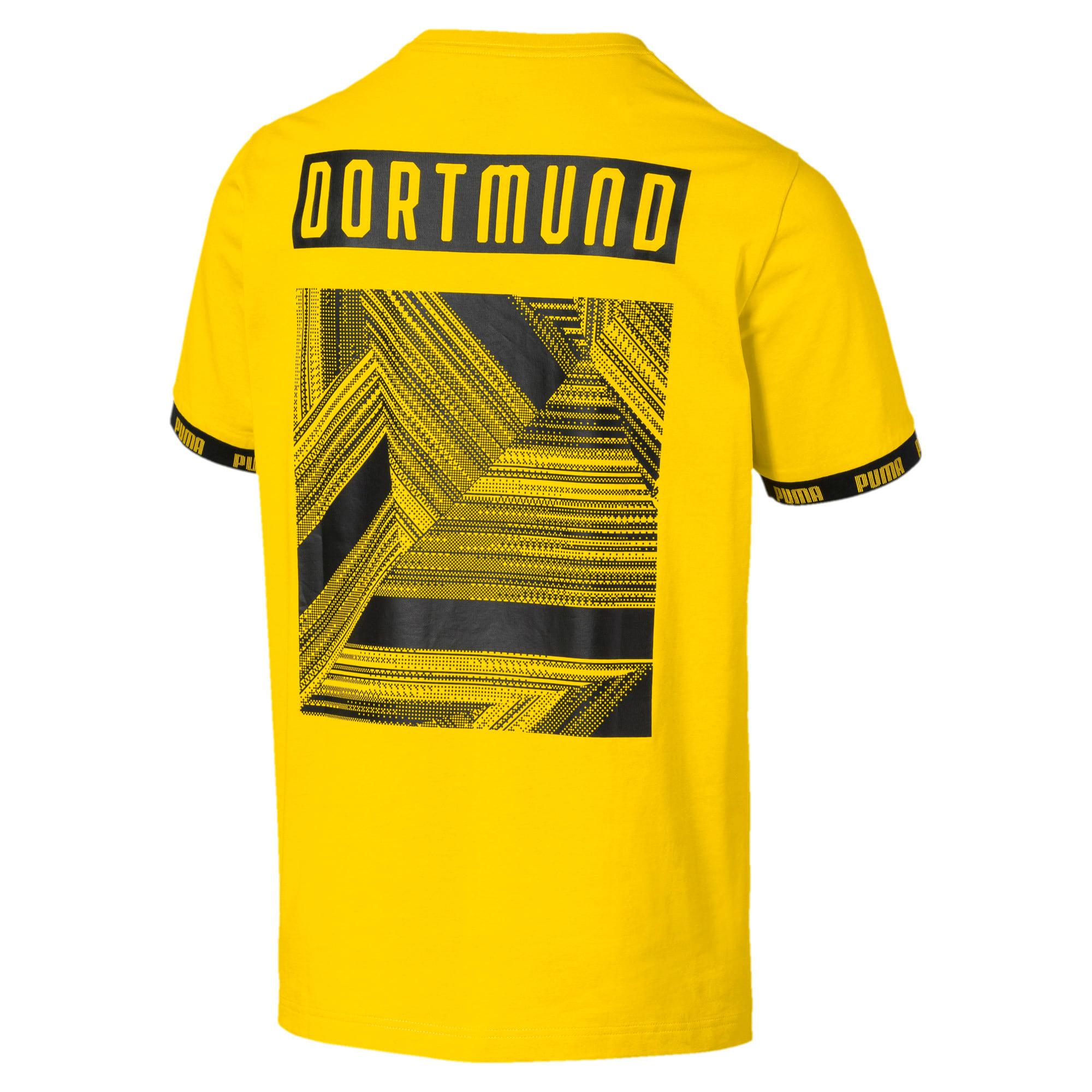 Thumbnail 5 of BVB Football Culture Men's Tee, Cyber Yellow, medium