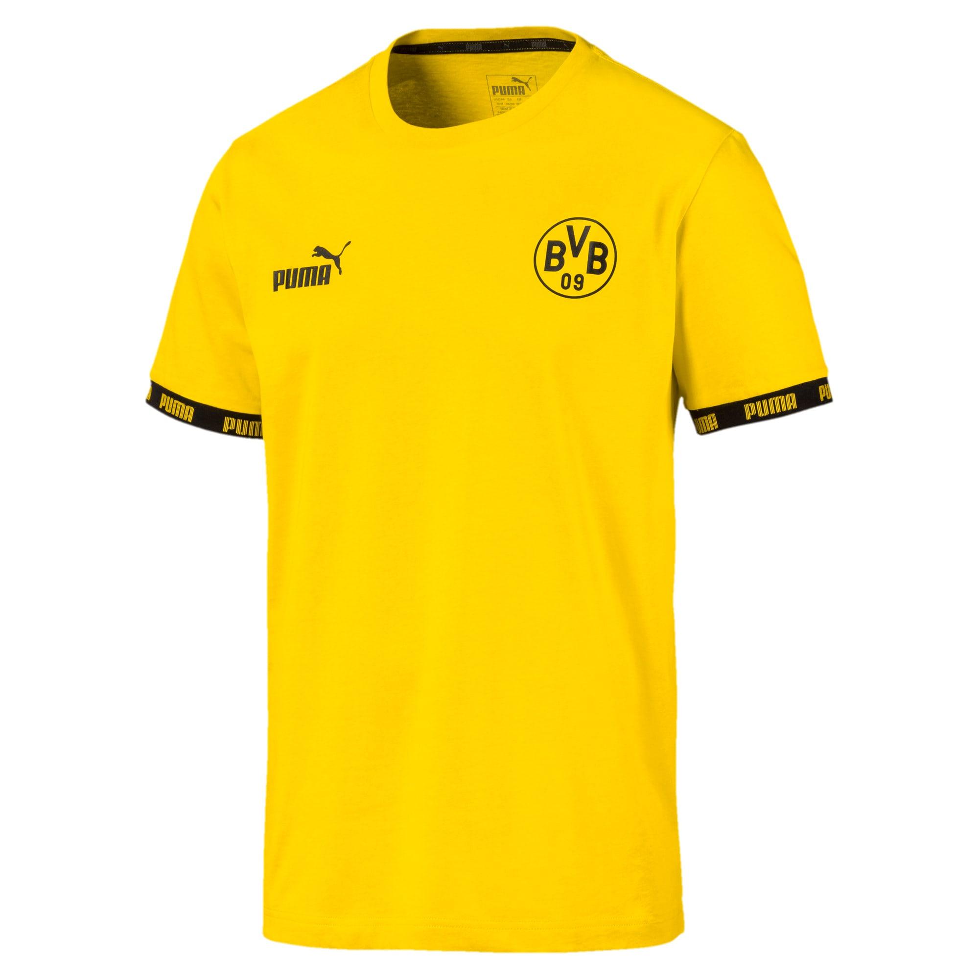 Thumbnail 4 of BVB Football Culture Men's Tee, Cyber Yellow, medium