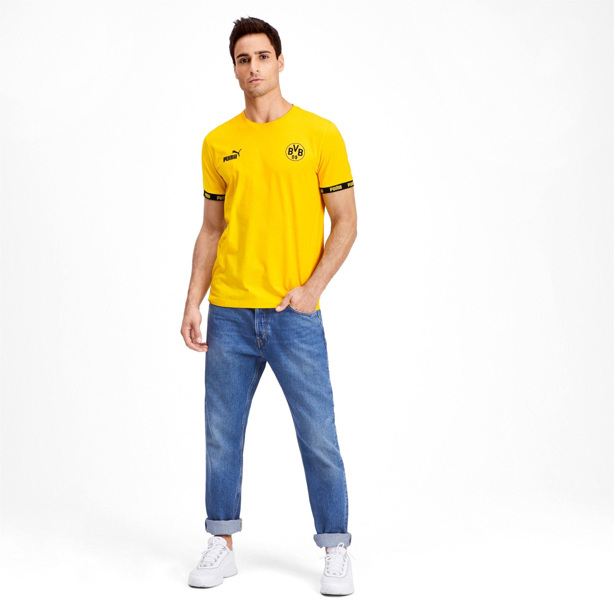 Thumbnail 3 of BVB Football Culture Men's Tee, Cyber Yellow, medium