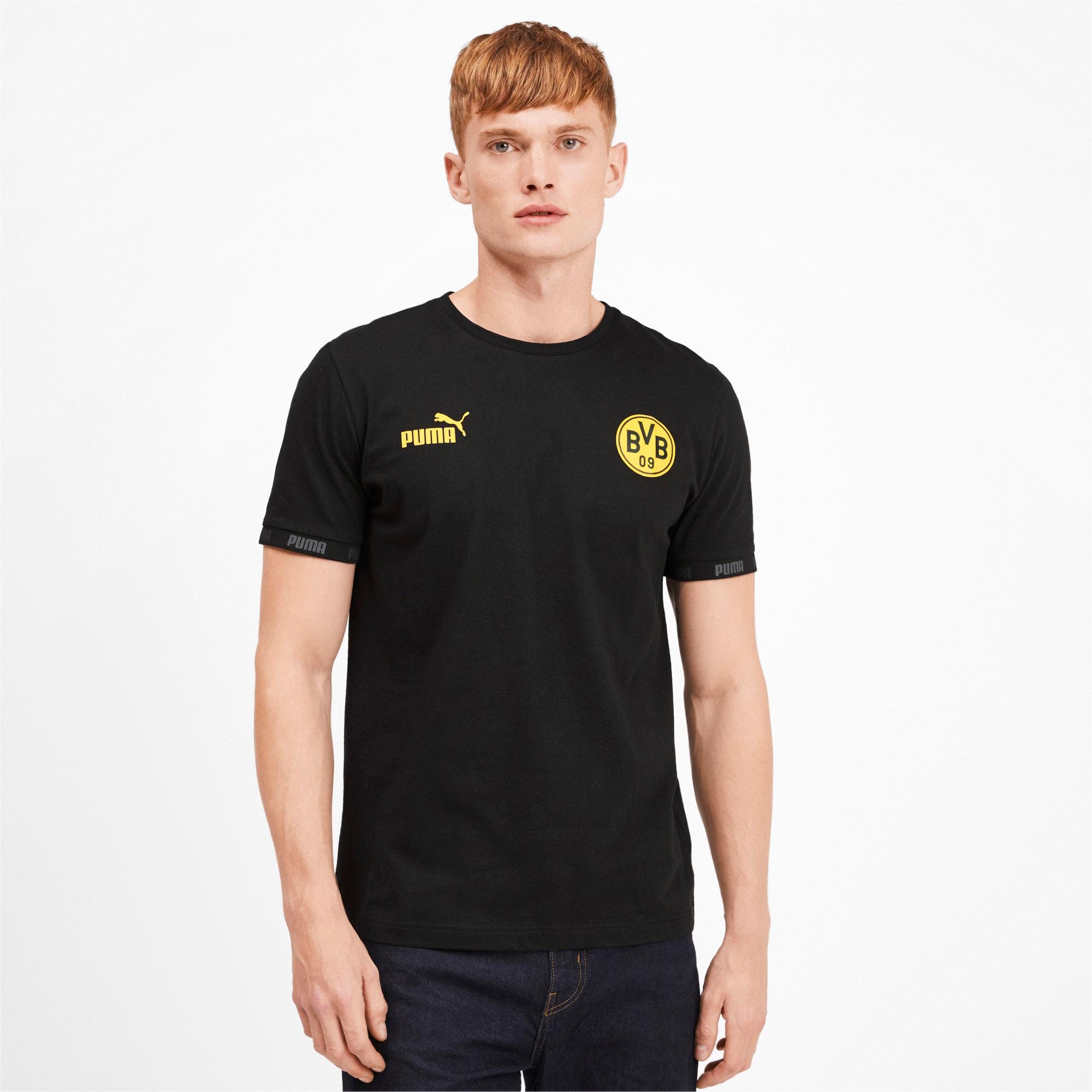Thumbnail 1 of BVB Football Culture Men's Tee, Puma Black, medium