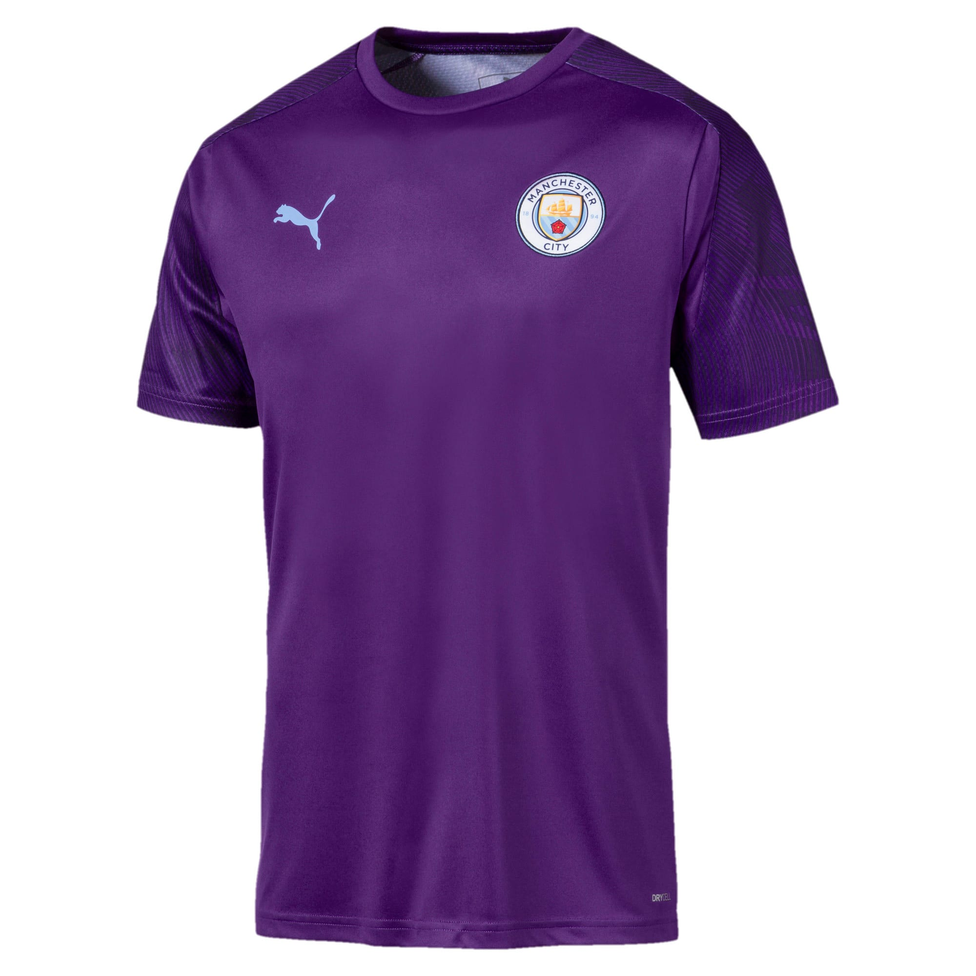 Thumbnail 1 of Man City Men's Training Jersey, TillandsiaPurple-TeamLightBl, medium