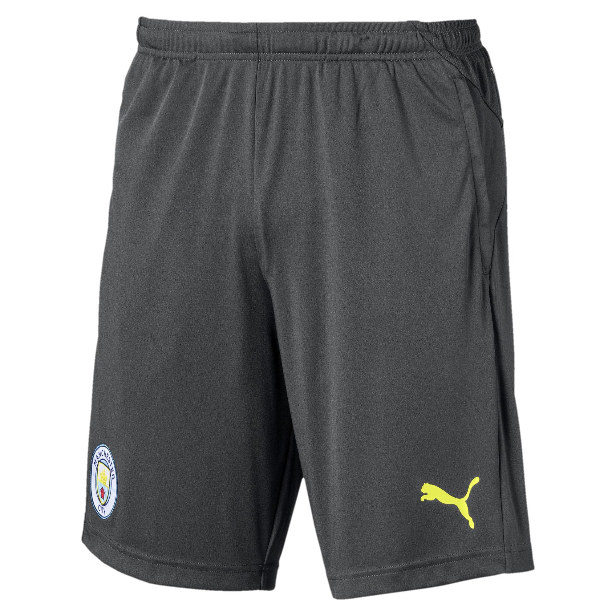 Thumbnail 1 of Manchester City FC Men's Training Shorts, Asphalt-Fizzy Yellow, medium
