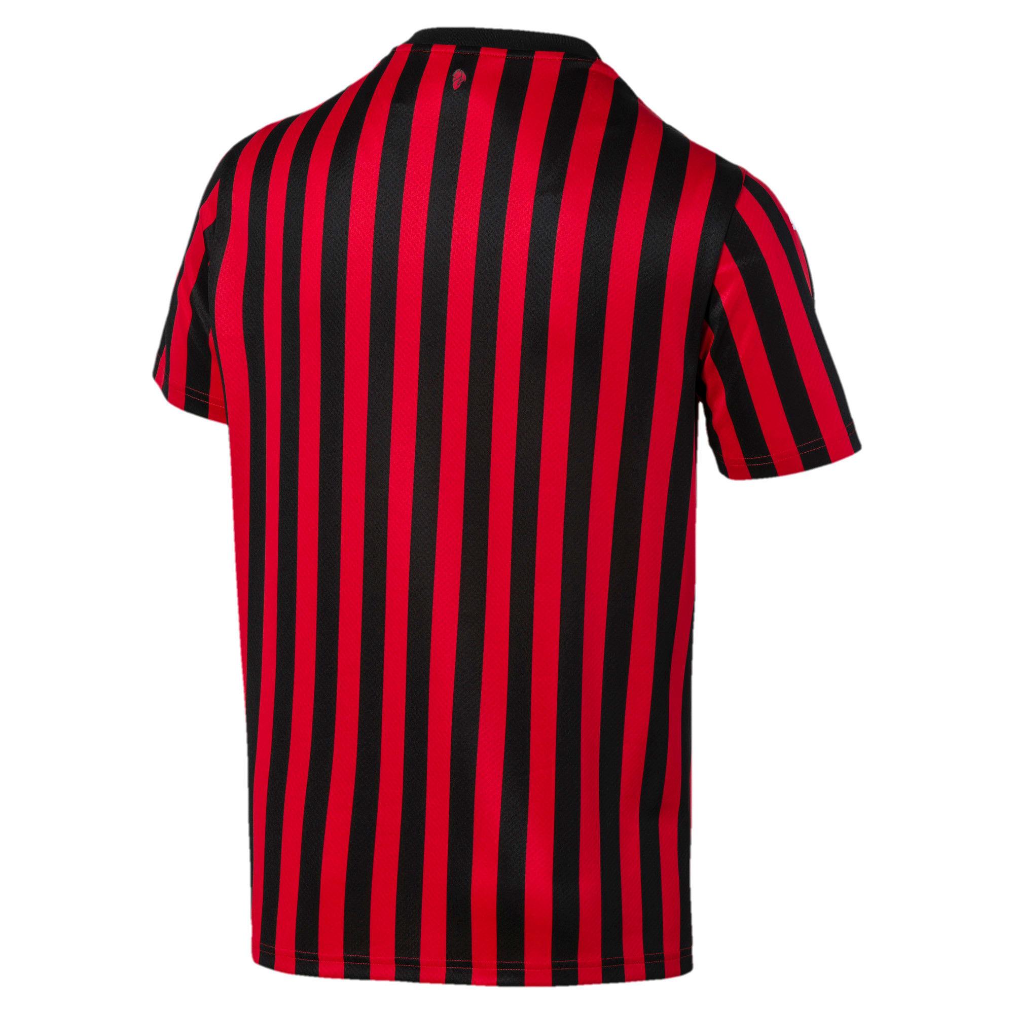 Thumbnail 5 of AC Milan Men's Home Replica Jersey, Tango Red -Puma Black, medium