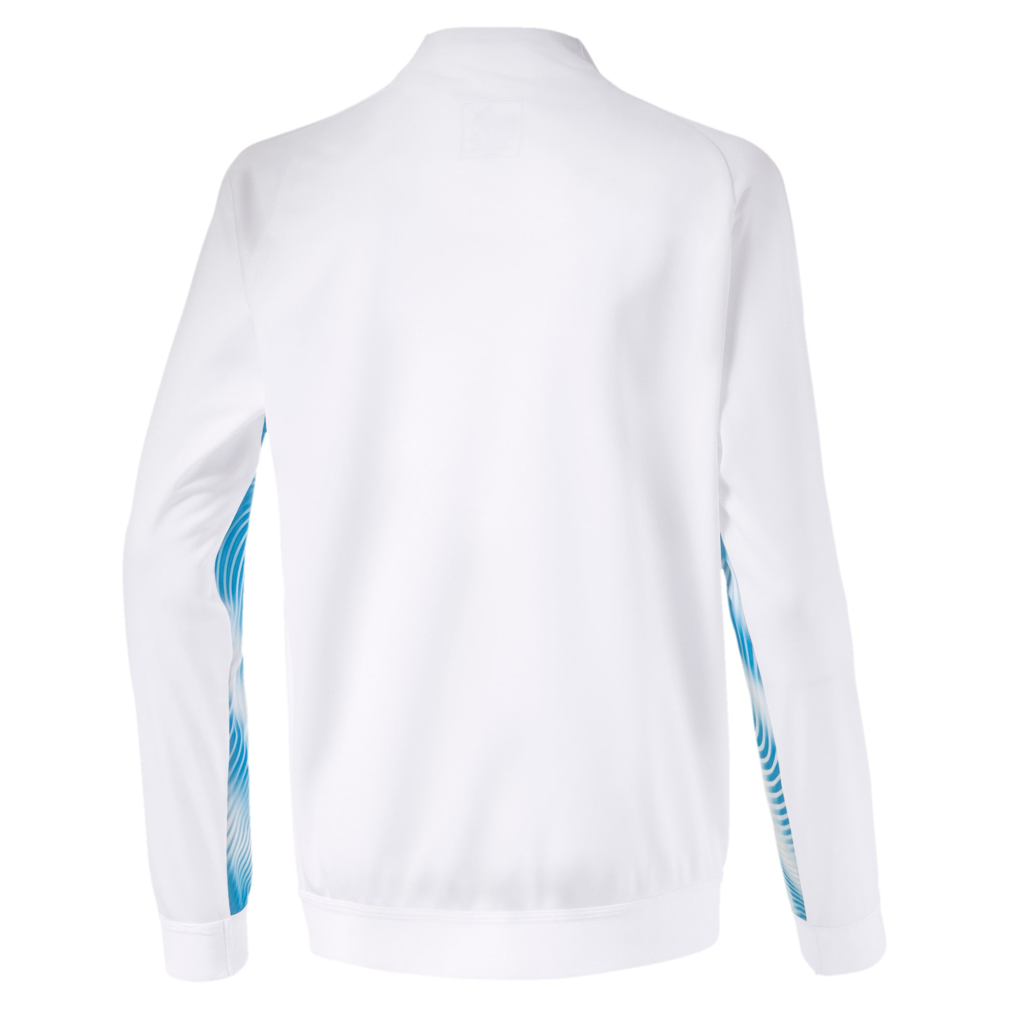 Thumbnail 2 of Olympique de Marseille Stadium Jungen Replica Jacke, Puma White-Bleu Azur, medium