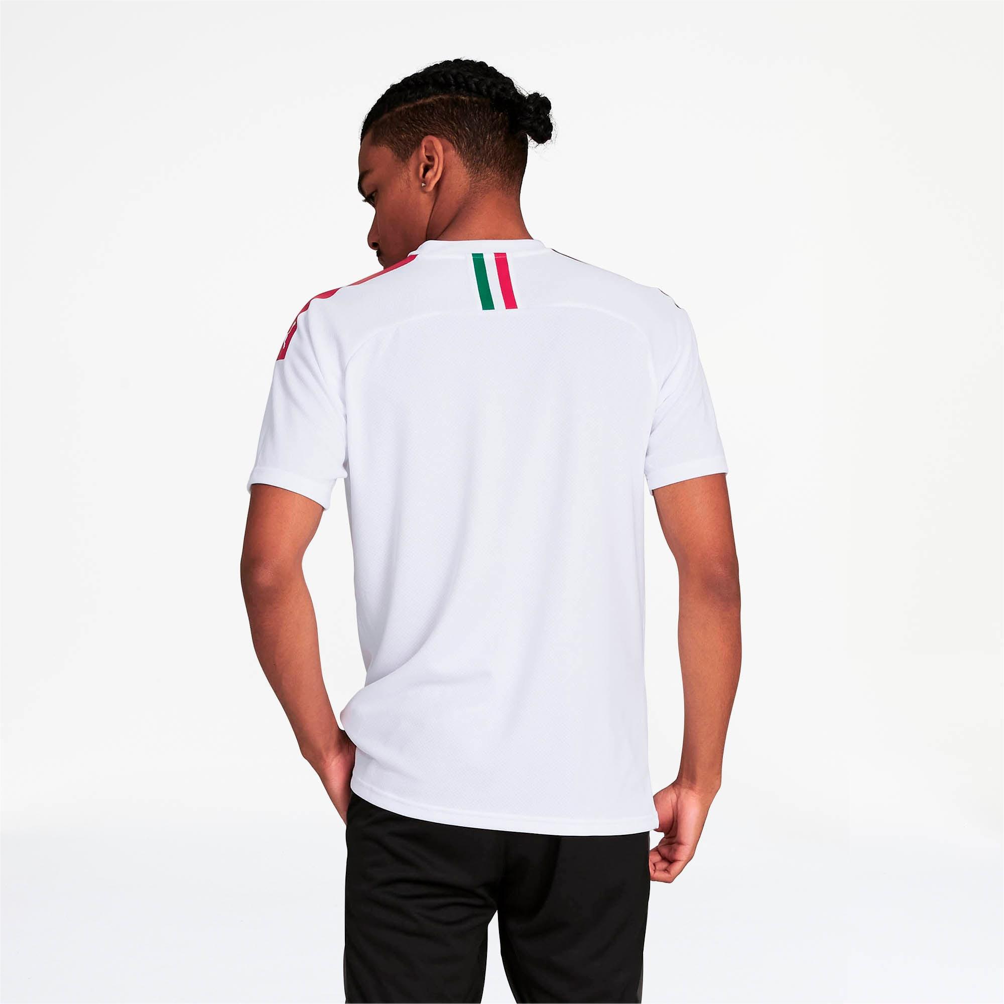 Thumbnail 2 of AC Milan Men's Away Replica Jersey, Puma White-Tango Red, medium