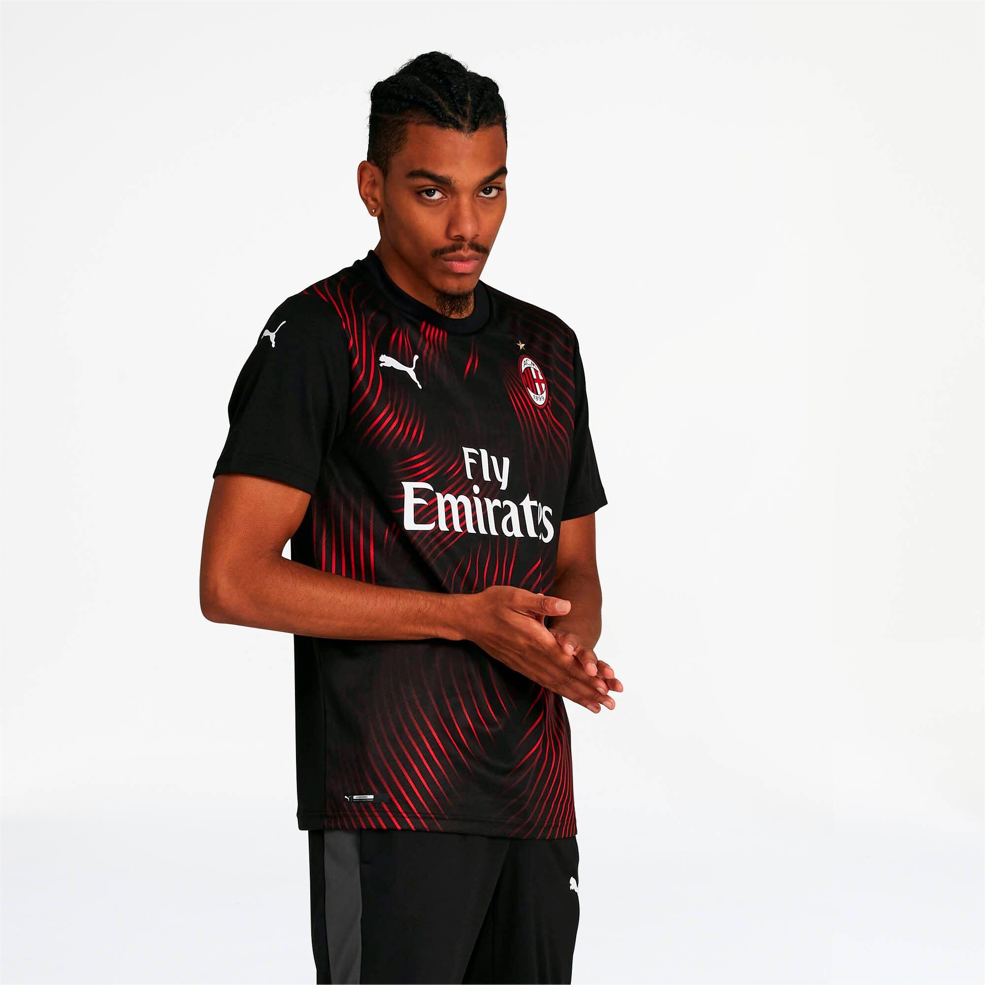 Thumbnail 1 of AC Milan Men's Third Replica Jersey, Puma Black-Tango Red, medium