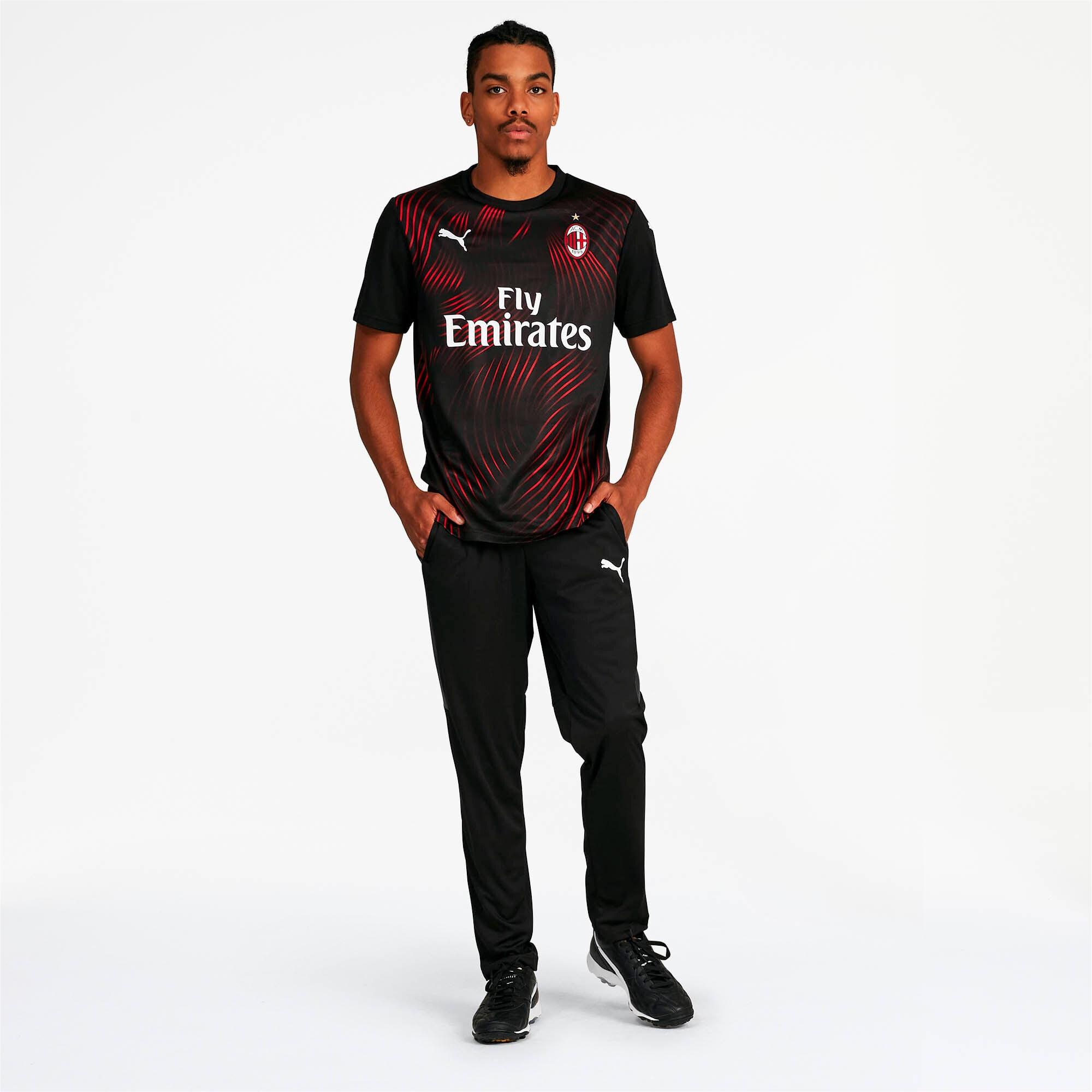 Thumbnail 3 of AC Milan Men's Third Replica Jersey, Puma Black-Tango Red, medium